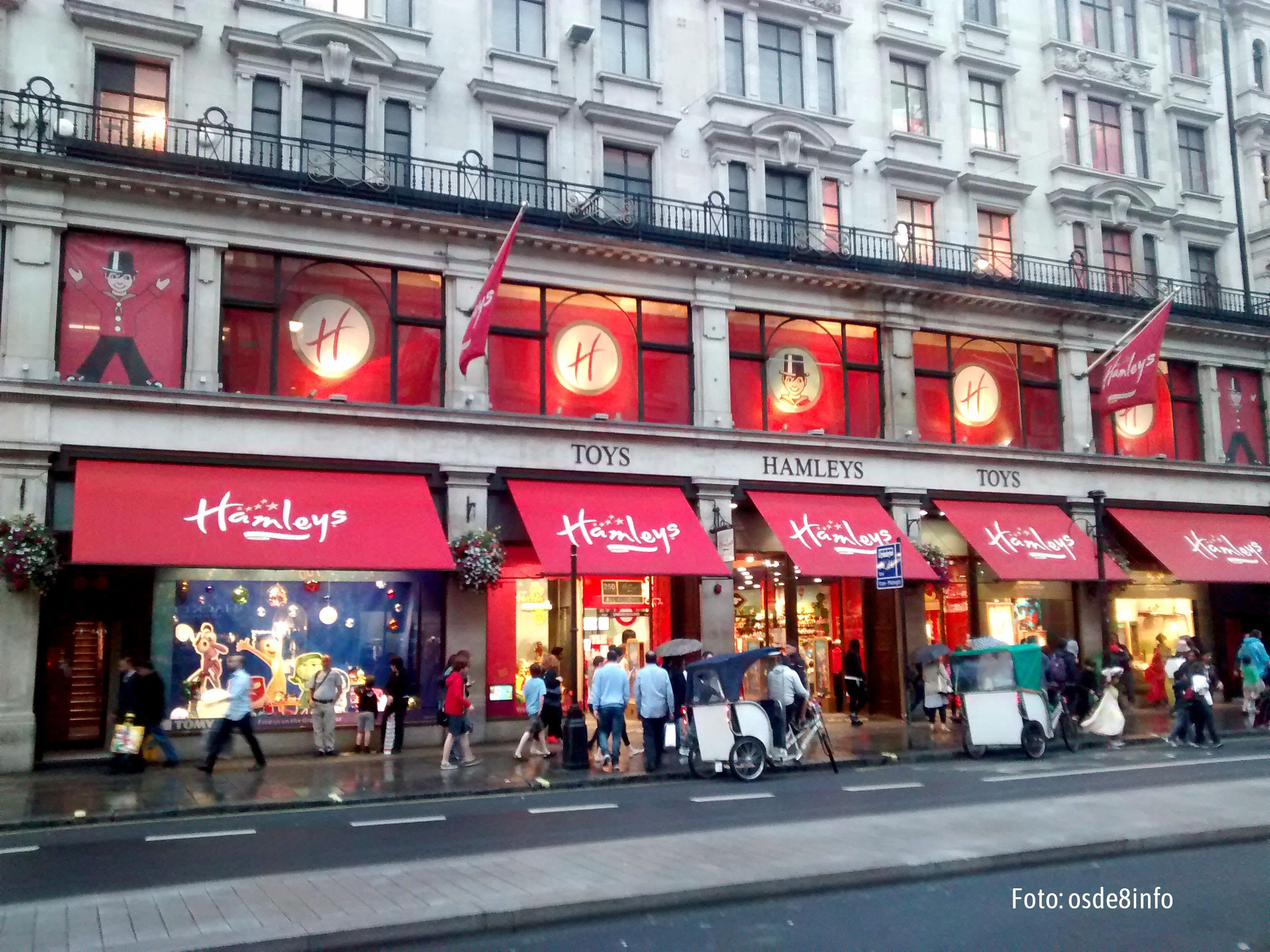 Compra los regalos de Reyes en la juguetería más grande y antigua del mundo - Inglaterra Circuito Londres, Bruselas y Ámsterdam