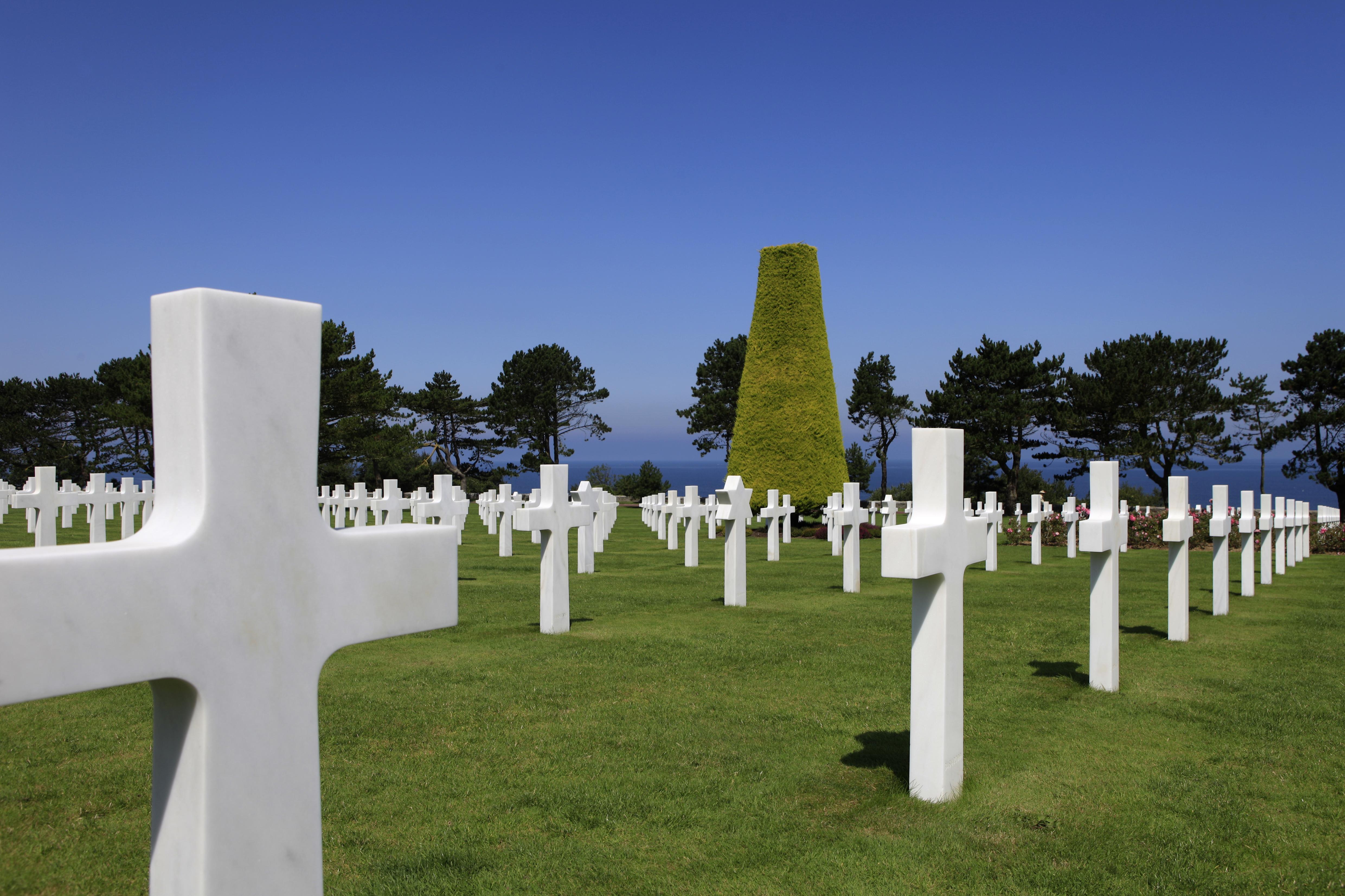 La sobrecogedora visita al cementerio americano de Colleville-sur-Mer - Francia Circuito Castillos del Loira y Normandía