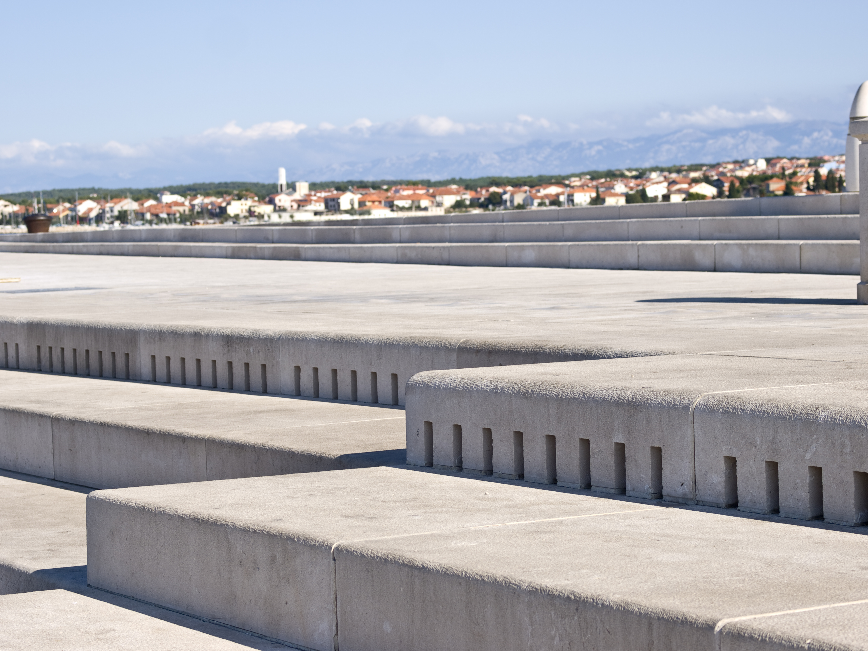 ¿Sabes que el mar toca un instrumento en Zadar? - Croacia Circuito Gran Tour de Croacia e Istria