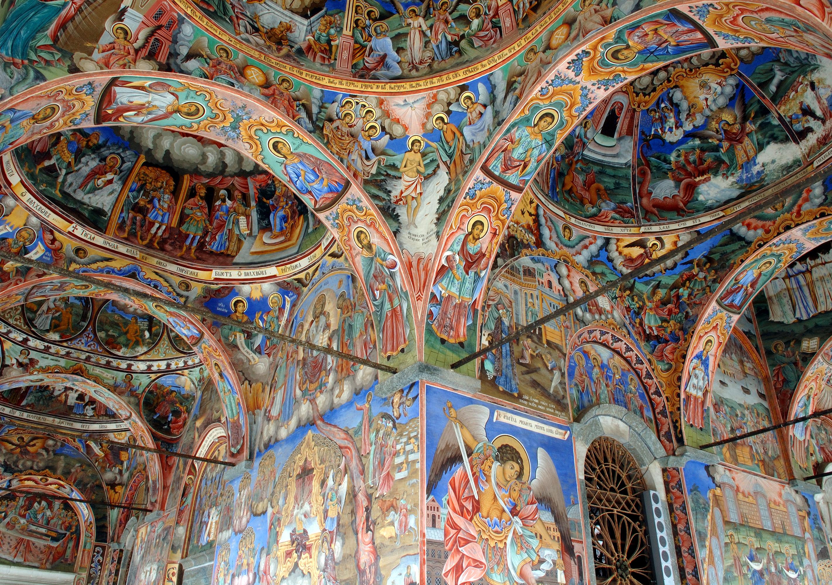 Donde la naturaleza se rinde a los pies de este monasterio ortodoxo - Bulgaria Circuito Bulgaria Artística