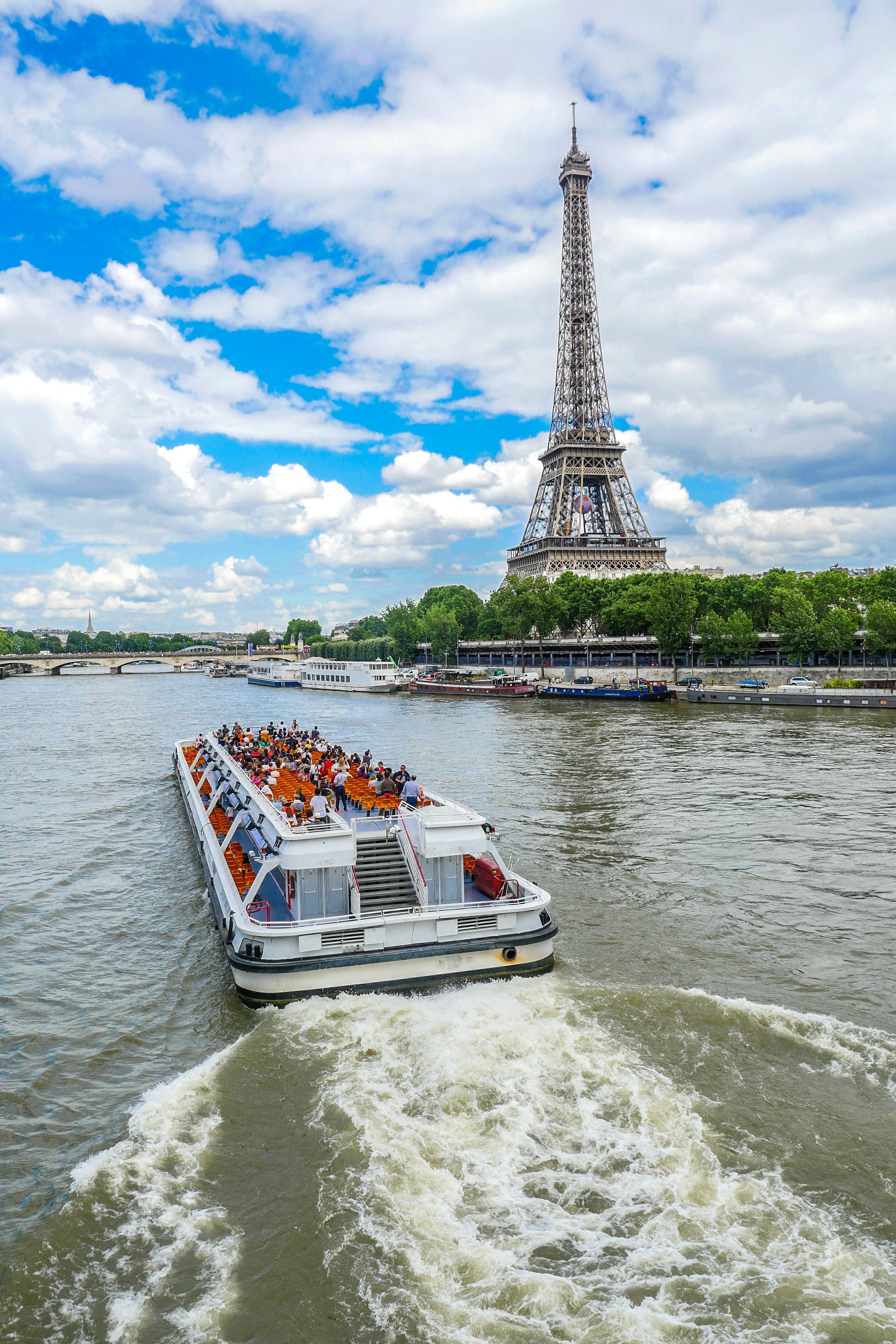 Un crucero por el Sena - Francia Circuito Castillos de Loira, Normandía y París