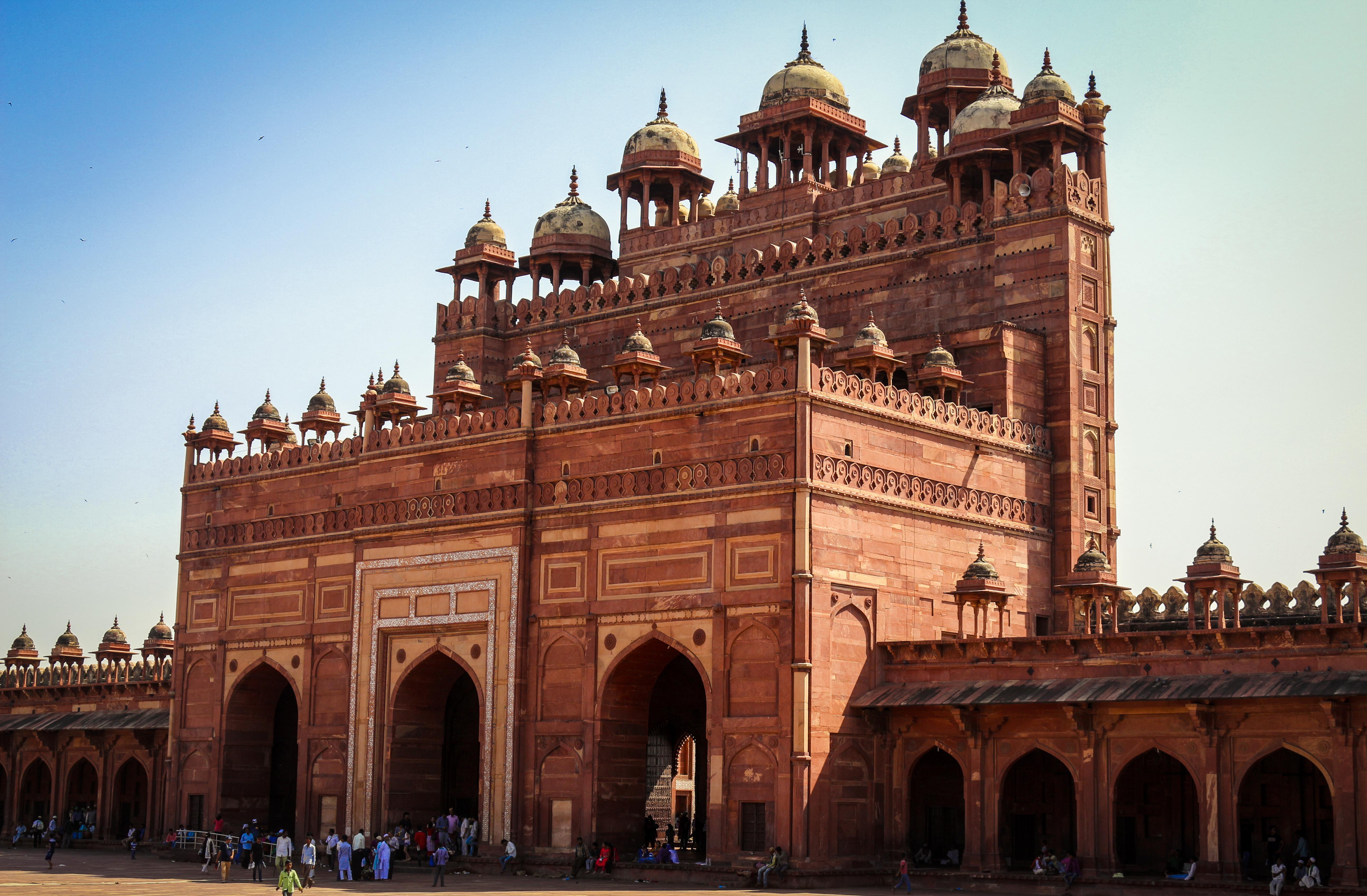 Fatehpur-Sikri, la ciudad fantasma - India Gran Viaje Delhi, Jaipur, Agra