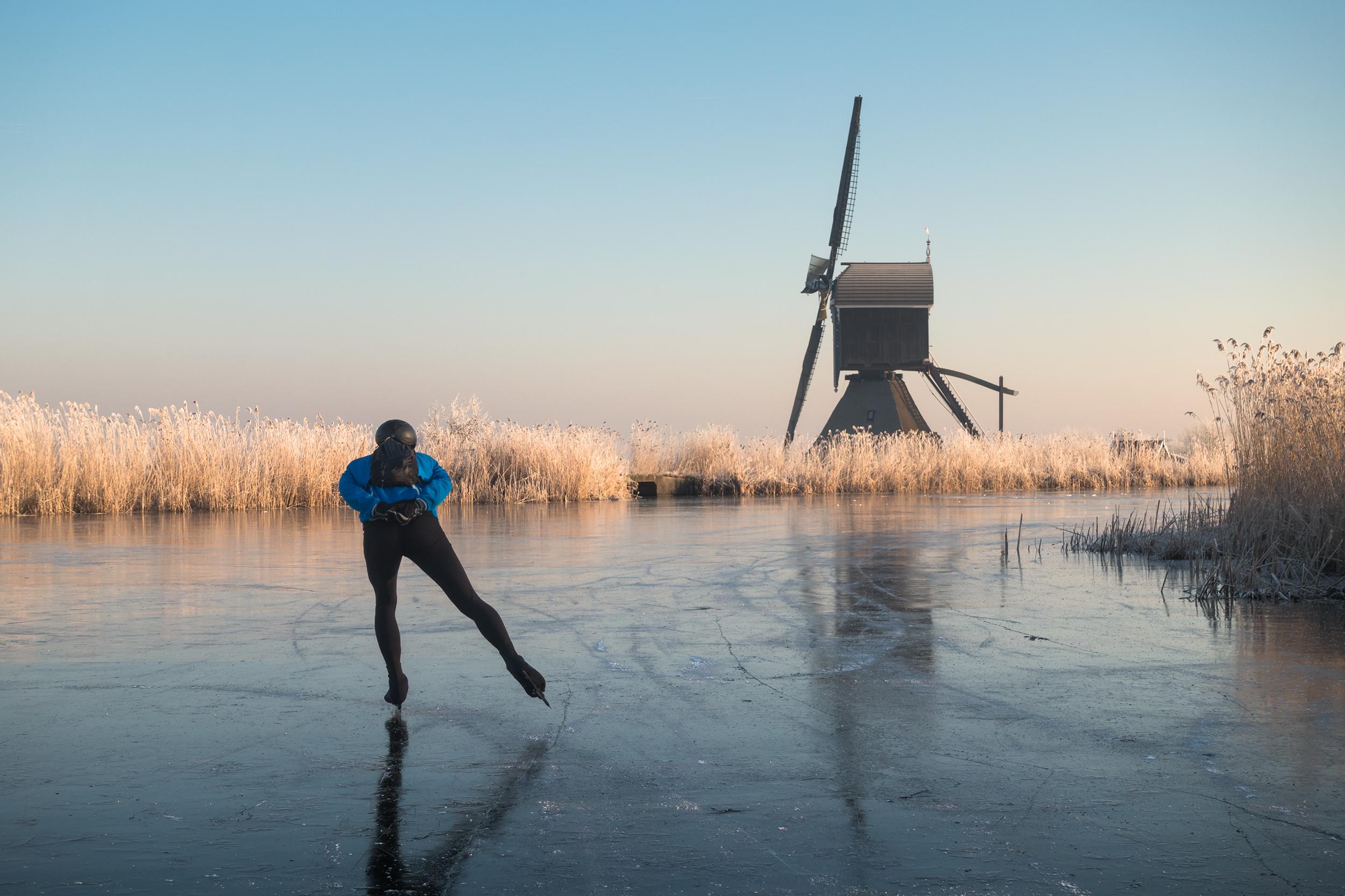 Una carrera sobre hielo de lo más curiosa - Inglaterra Circuito Londres, Bruselas y Ámsterdam