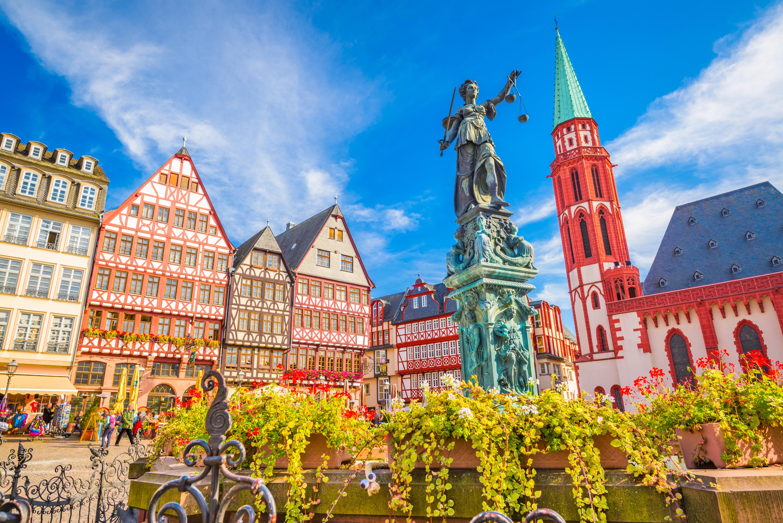 DomRömer Quarter en Frankfurt - Bélgica Circuito La Ruta de Carlomagno
