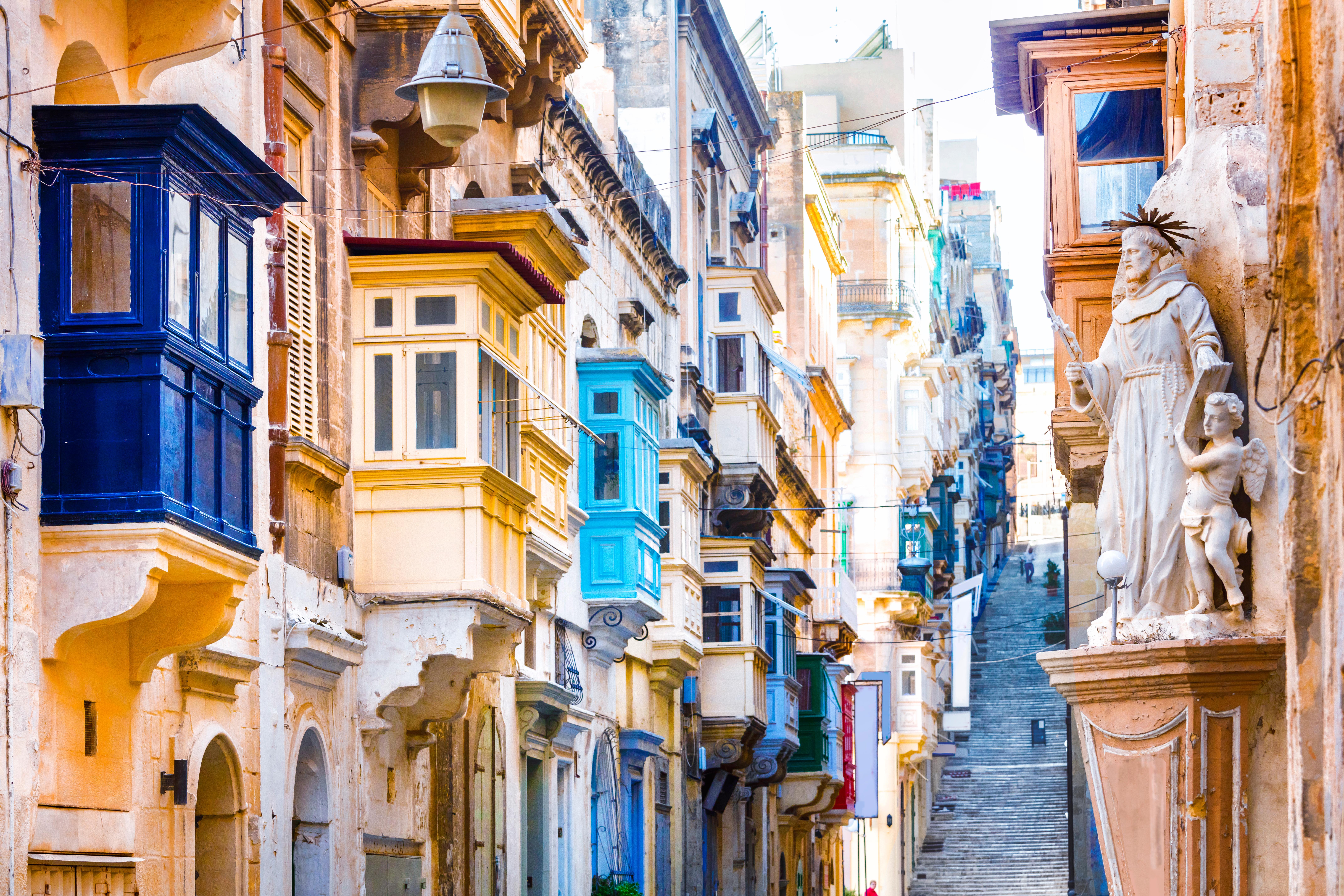Guíñale un ojo al futuro en La Valeta - Malta Circuito Maravillas de Malta