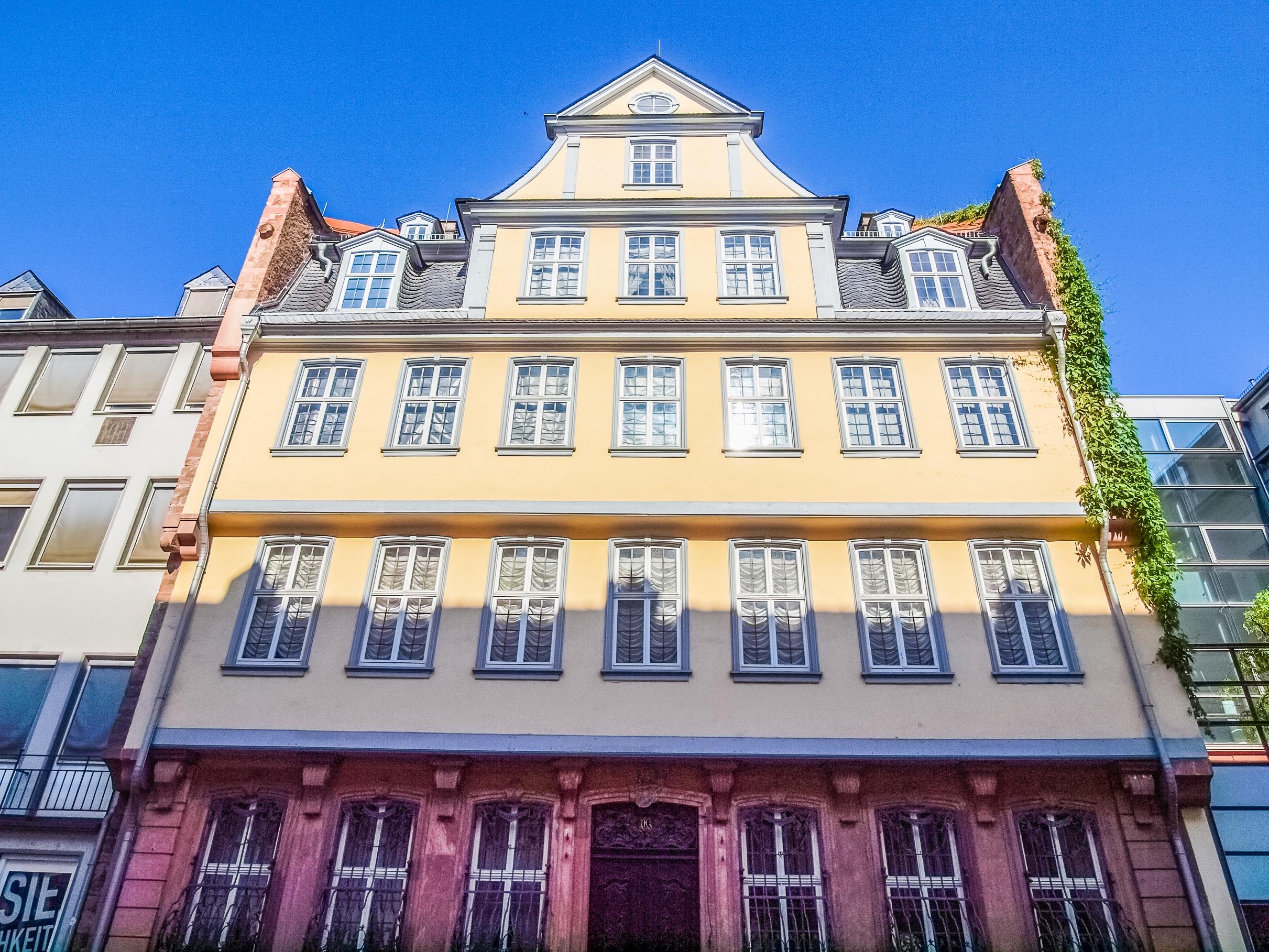 Visita a la casa del autor de Fausto. Goethe - Alemania Circuito Lo mejor de la Selva Negra