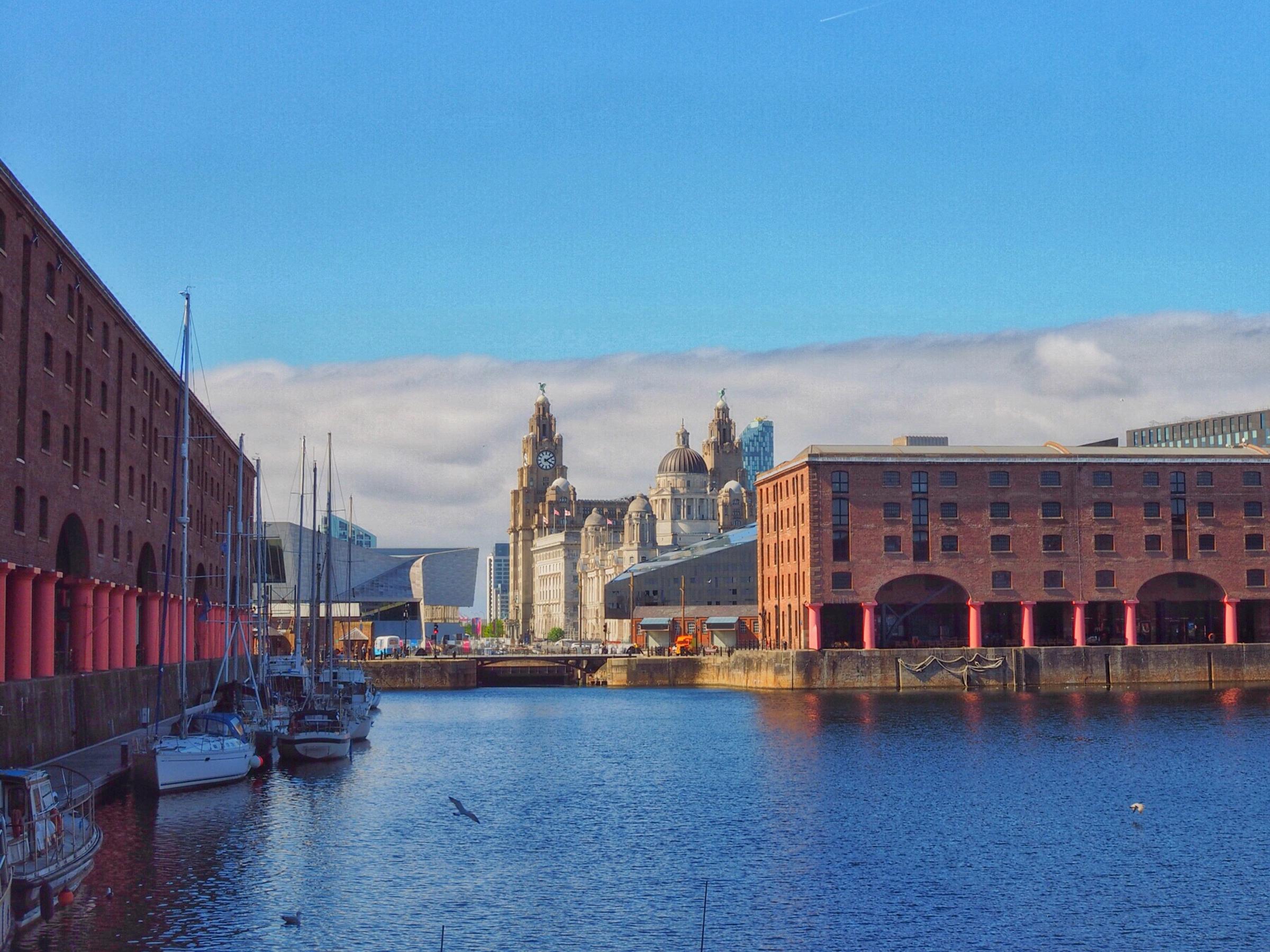 La puerta hacia el Nuevo Mundo está en Liverpool - Inglaterra Circuito Inglaterra, Gales y Londres