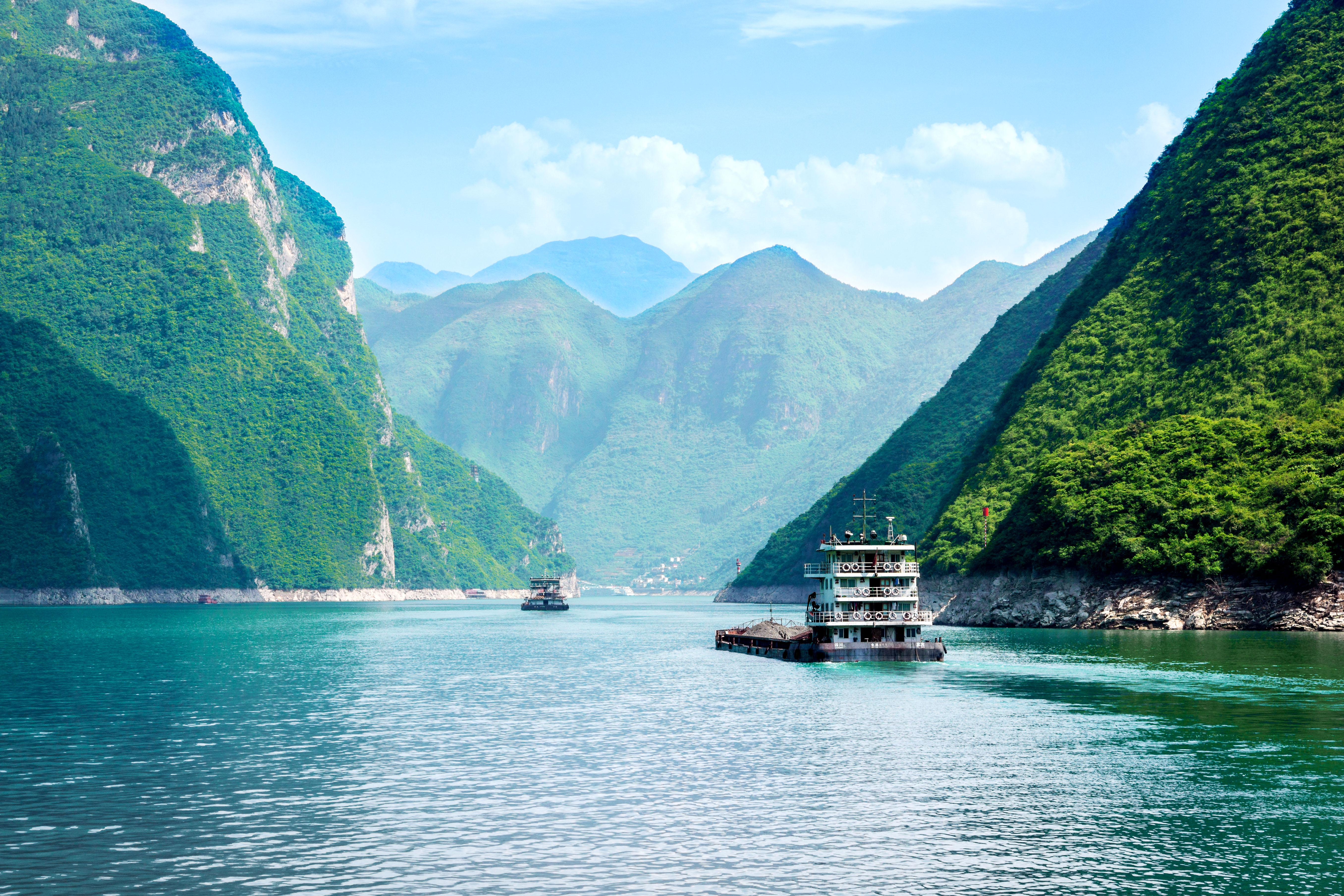 La increíble presa de las Tres Gargantas - China Gran Viaje China clásica y crucero por el río Yangtze