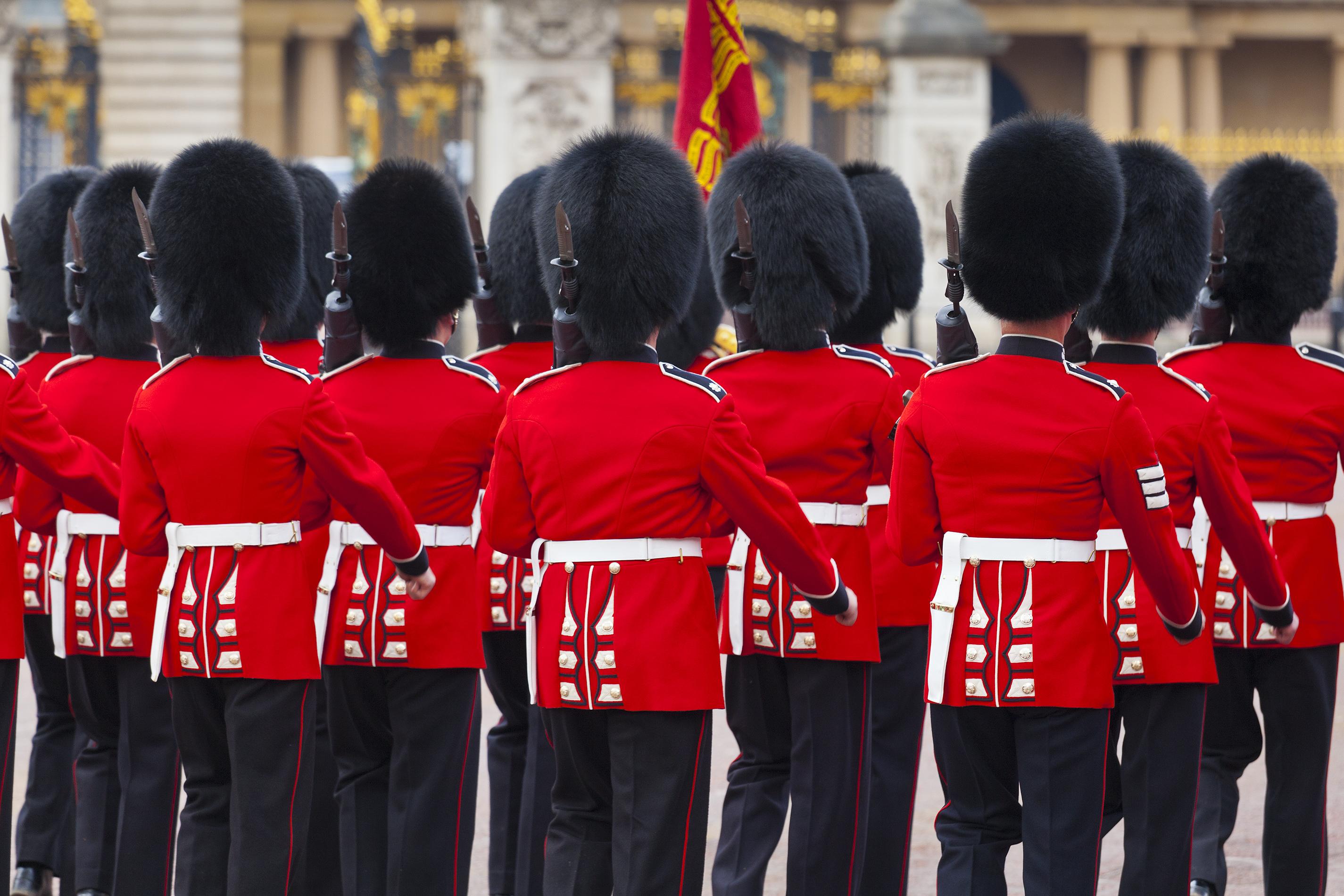 Asiste al ceremonial cambio de guardia de Buckingham Palace - Inglaterra Circuito Londres y Lo Mejor de Los Países Bajos