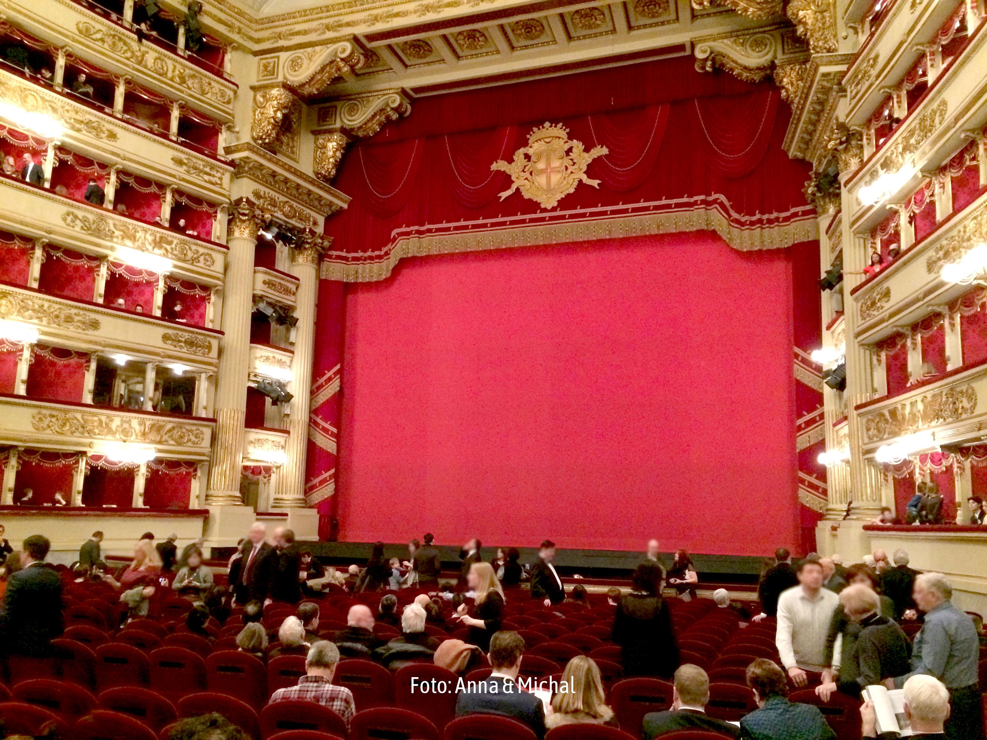En Milán, la vida es puro teatro - Italia Circuito Italia: de Venecia a Roma