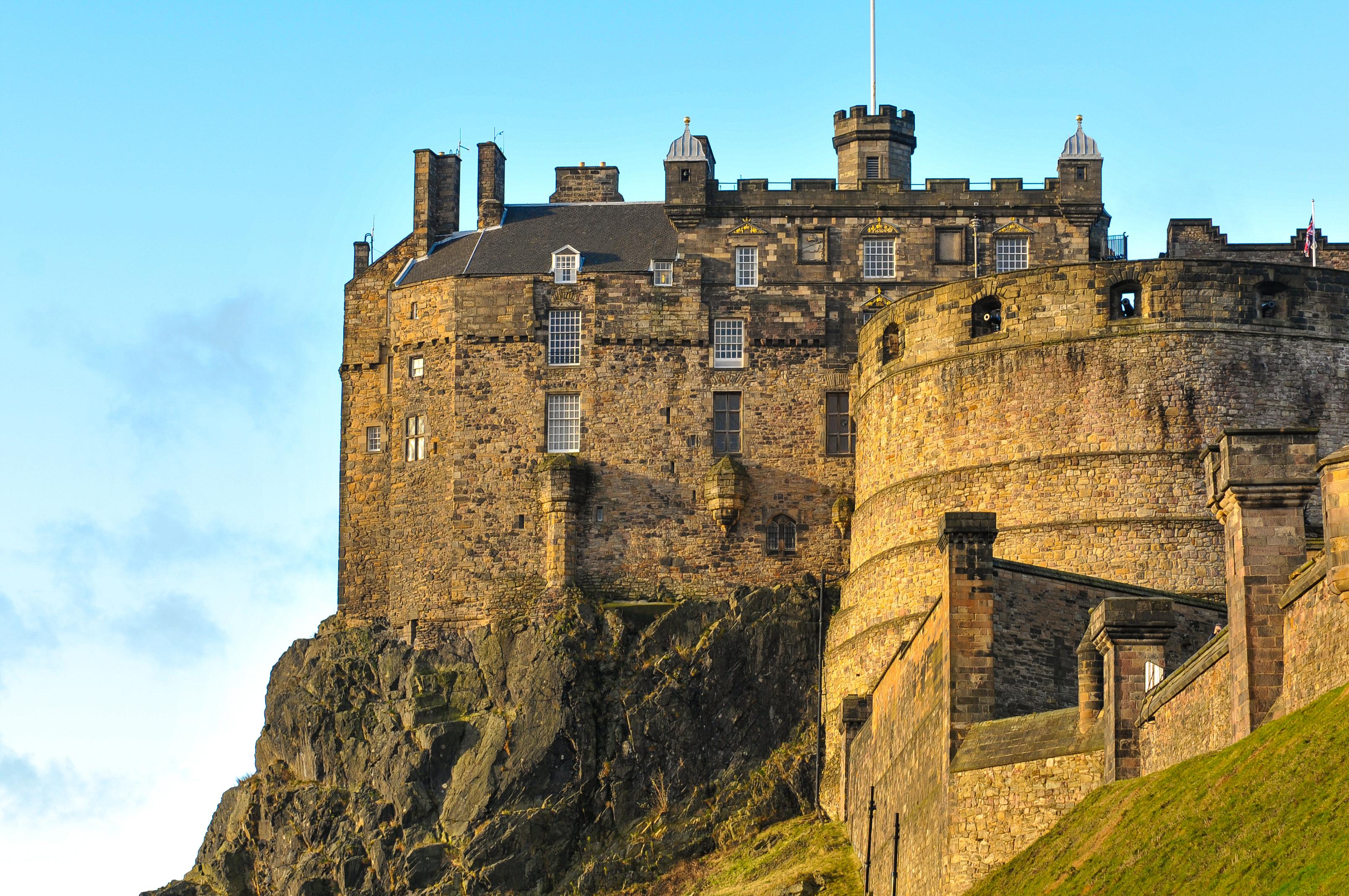 El Castillo de Edimburgo, símbolo de la ciudad - Irlanda Circuito Irlanda y Escocia