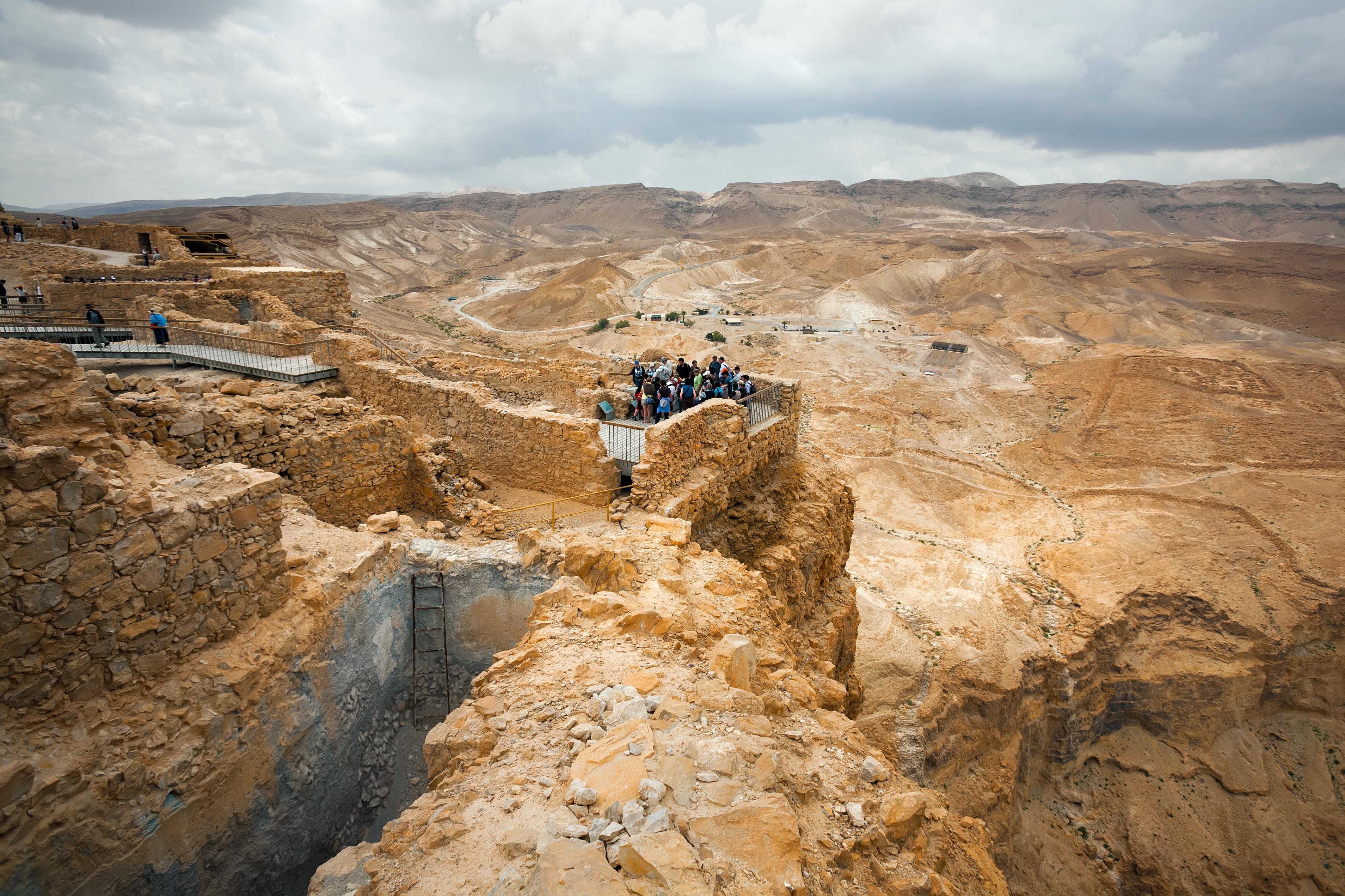 Masada: una fortaleza de leyenda - Israel Circuito Recorriendo Israel