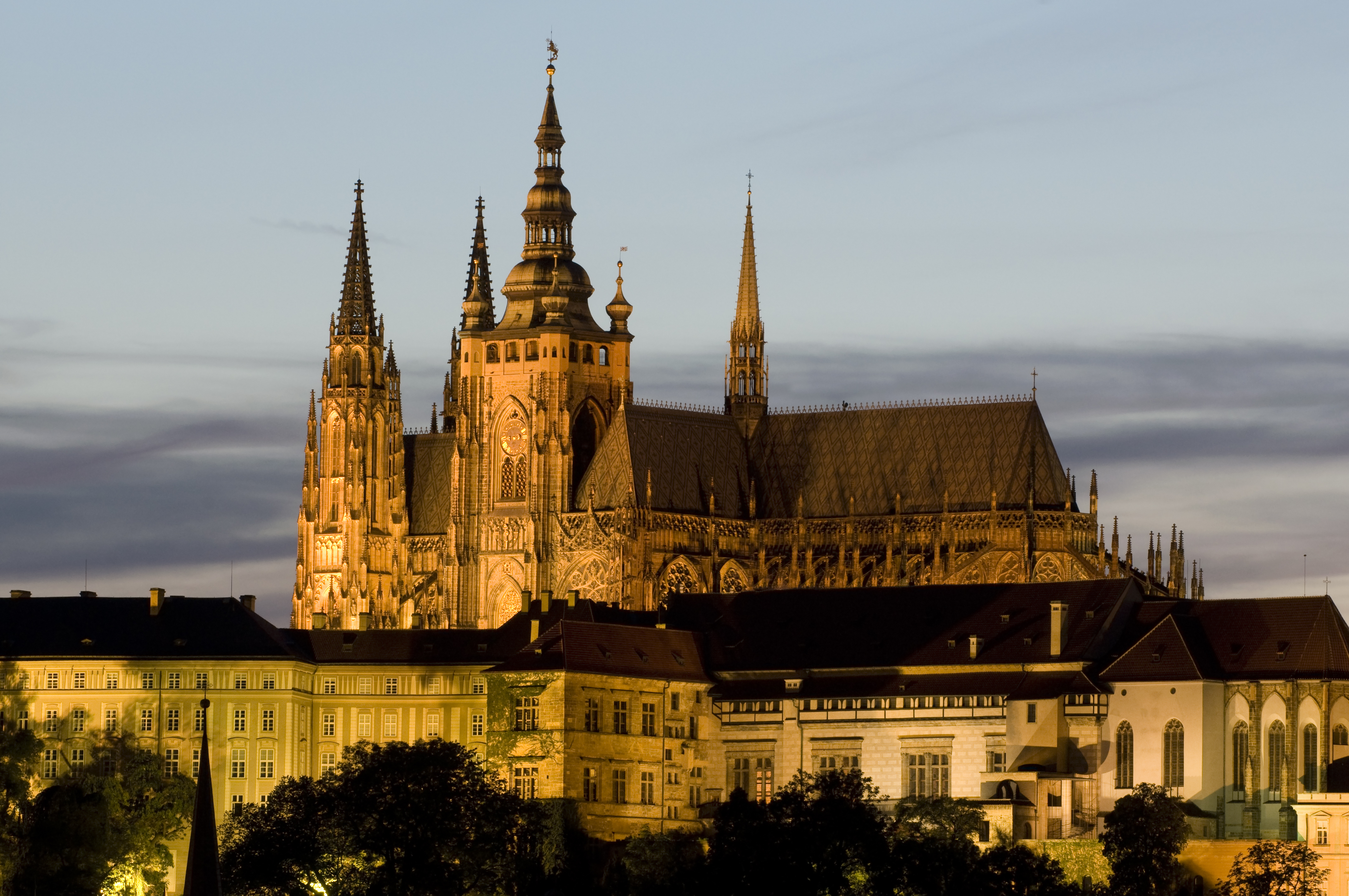 El Castillo de Praga, el más grande del mundo - Alemania Circuito Berlín y Europa Imperial