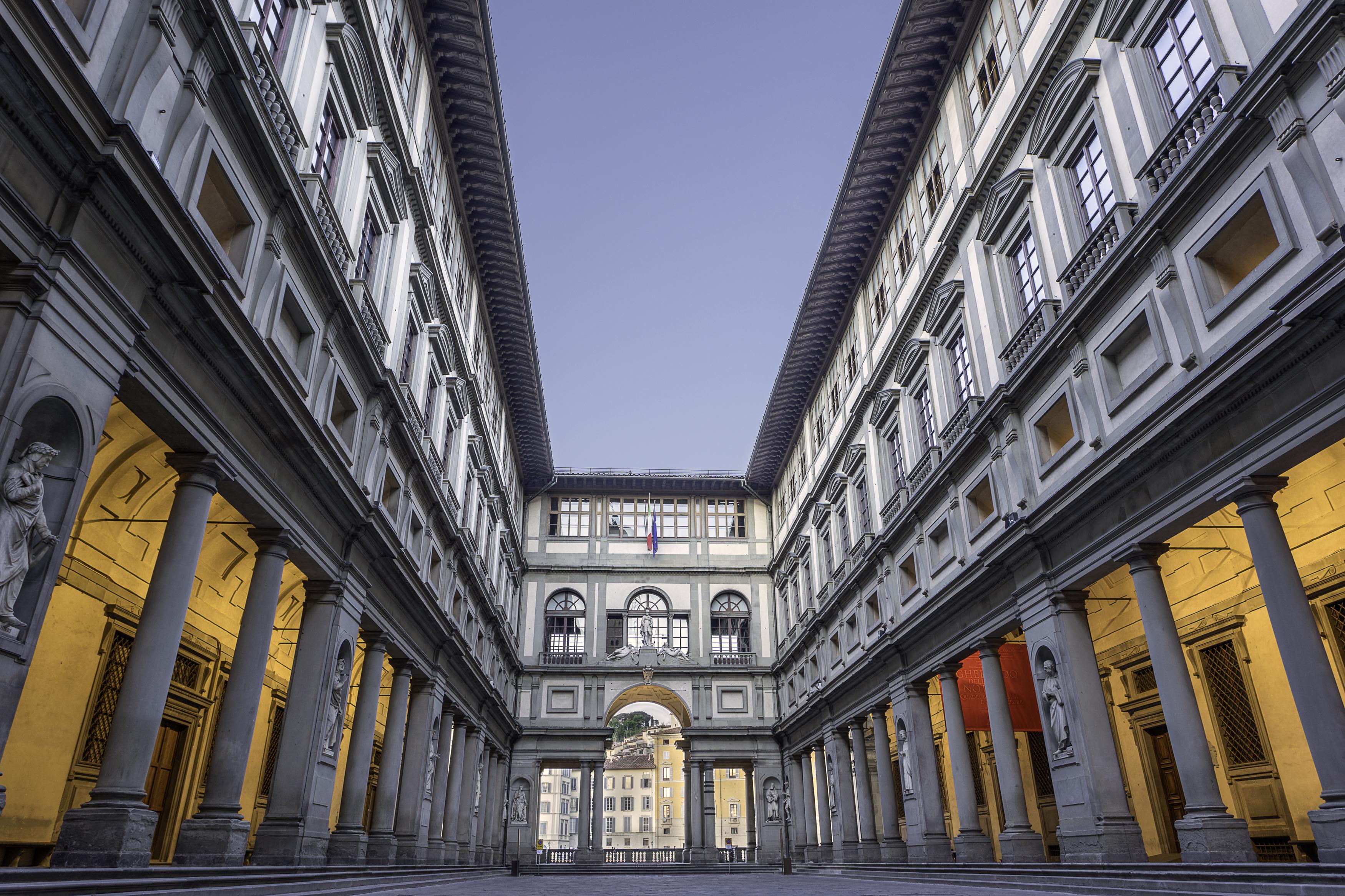 La galería Uffizi, una cita ineludible con lo más destacado de la pintura renacentista - Italia Circuito Italia Bella: de Milán a Roma