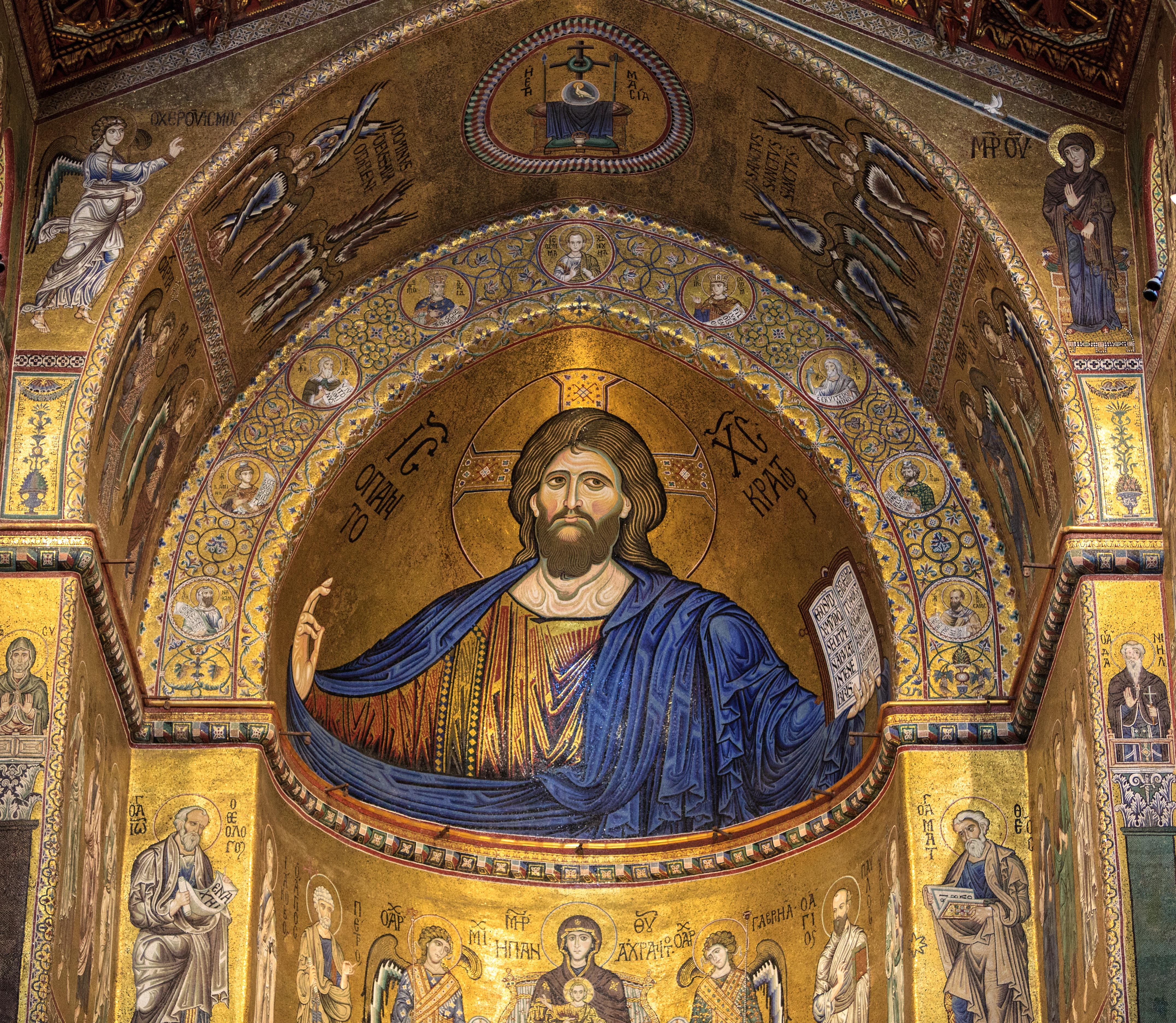 Déjate hipnotizar por el juego de los mosaicos de la Catedral de Monreale - Italia Circuito Sicilia Clásica