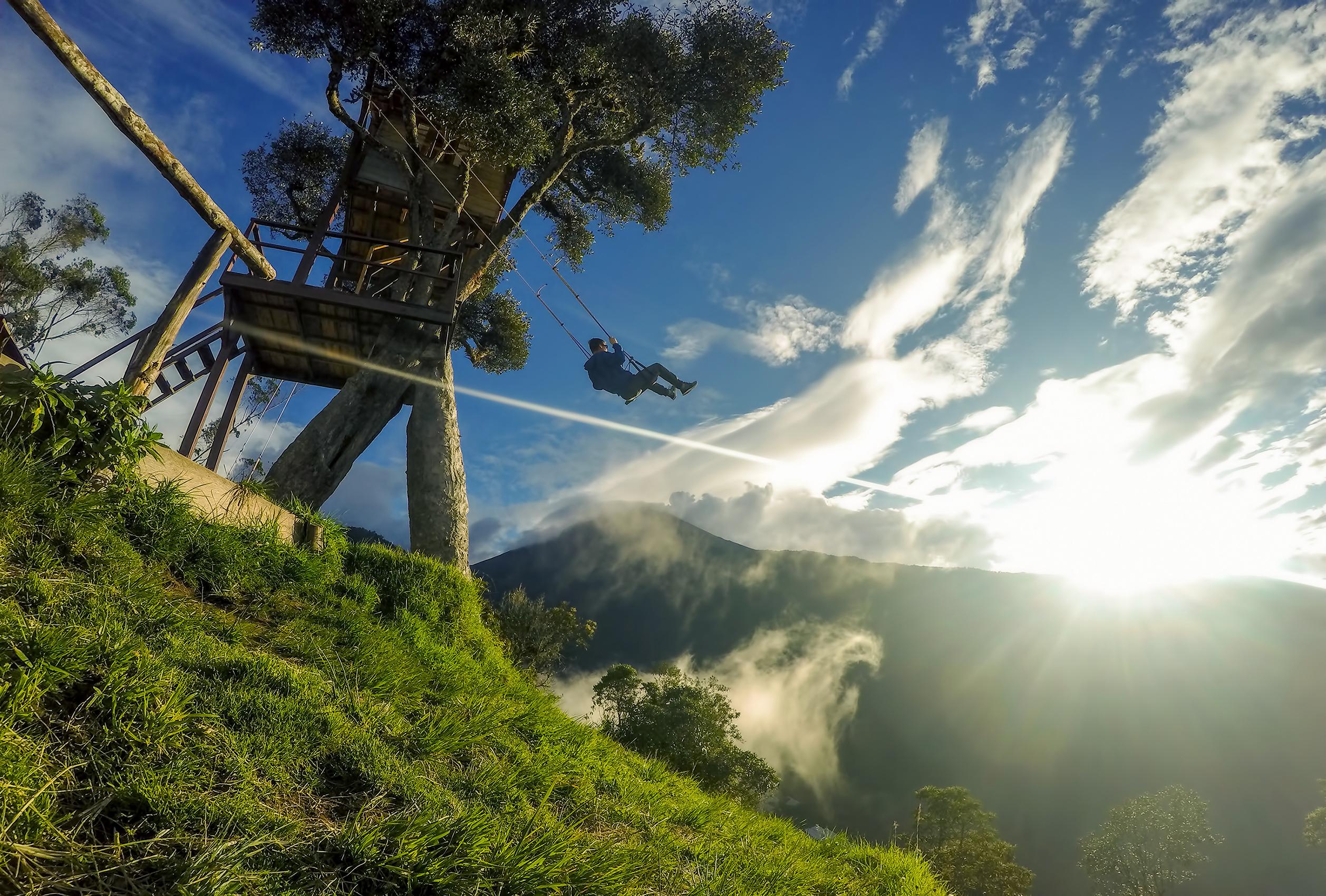 Columpio del fin del mundo - Ecuador Gran Viaje De los Andes al Pacífico