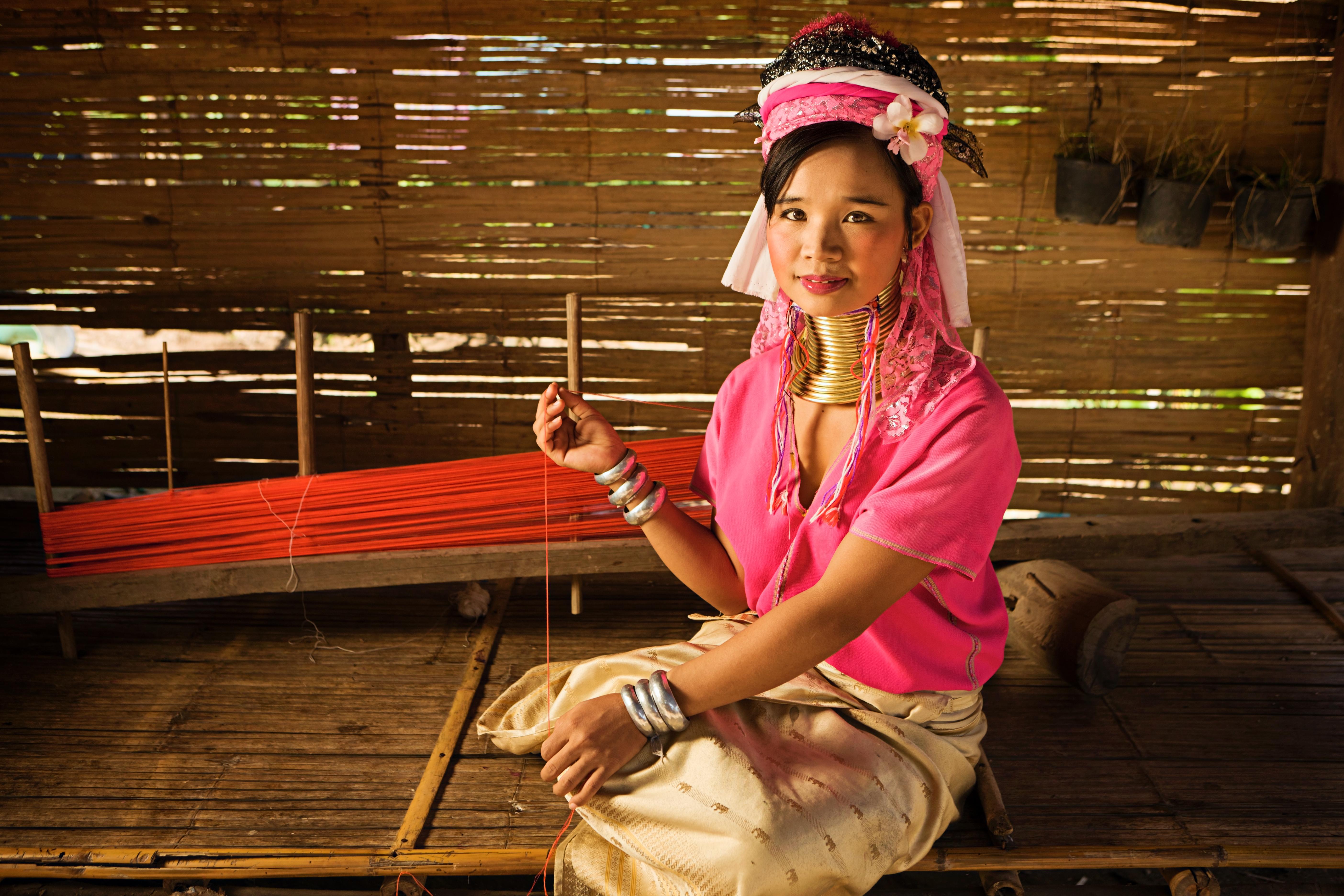 No creerás lo que ven tus ojos ¡el poblado de las mujeres jirafa! - Tailandia Gran Viaje Alrededor de Tailandia
