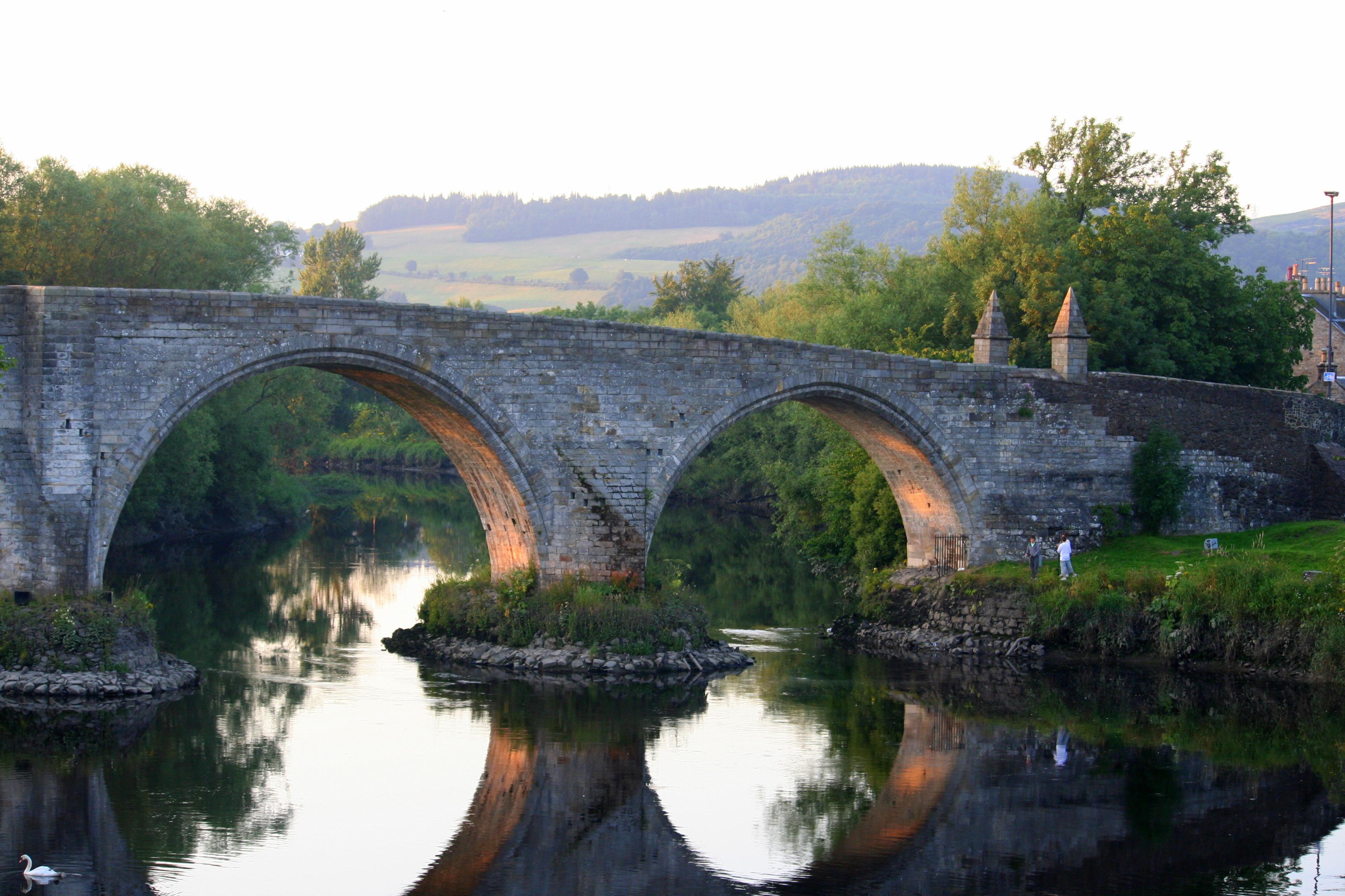 Descubre el puente y el castillo de Braveheart - Escocia Circuito Gran Tour de Escocia e Irlanda