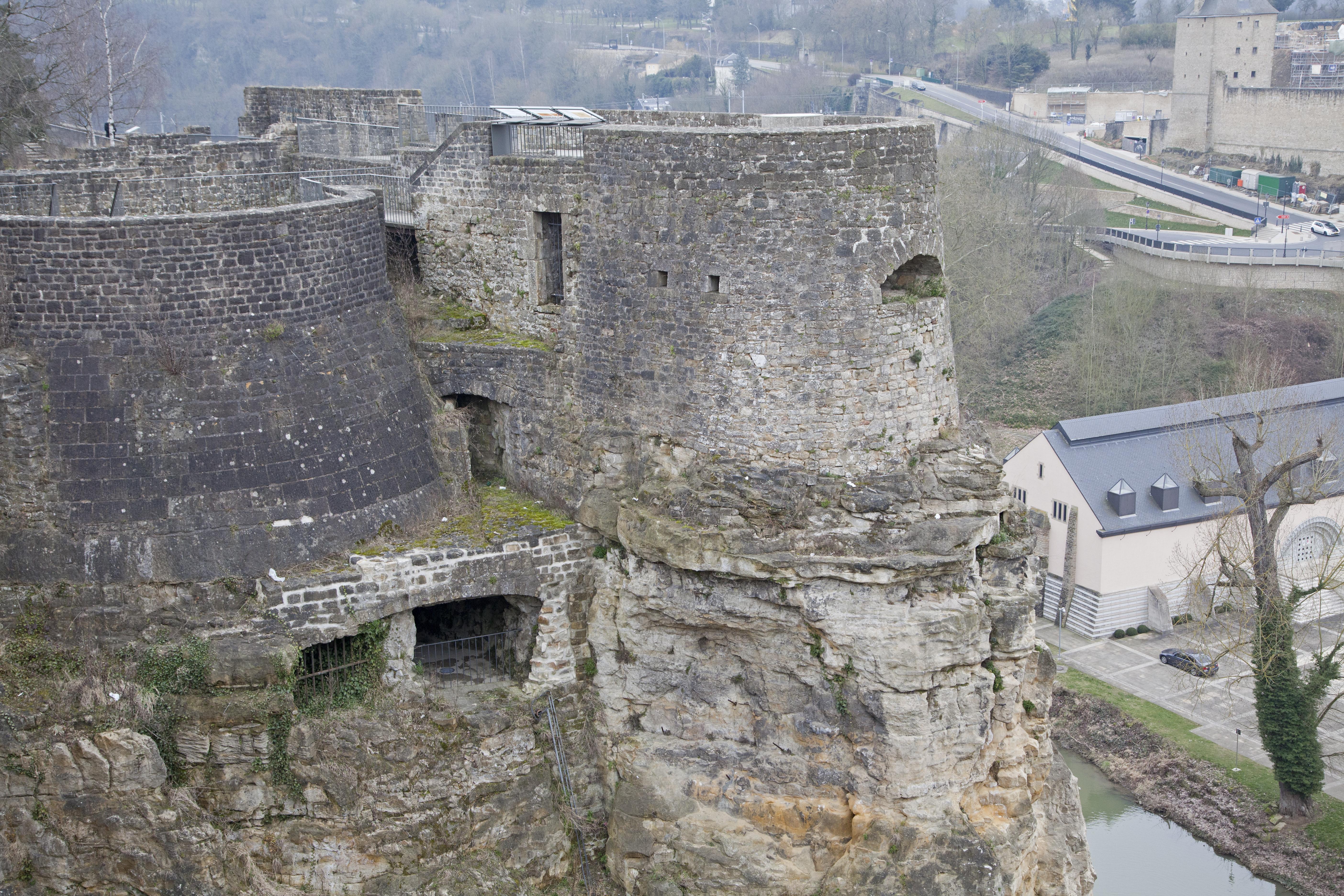 Las Casamatas de Bock en Luxemburgo - Francia Circuito La Ruta del Champagne, Luxemburgo y Alsacia