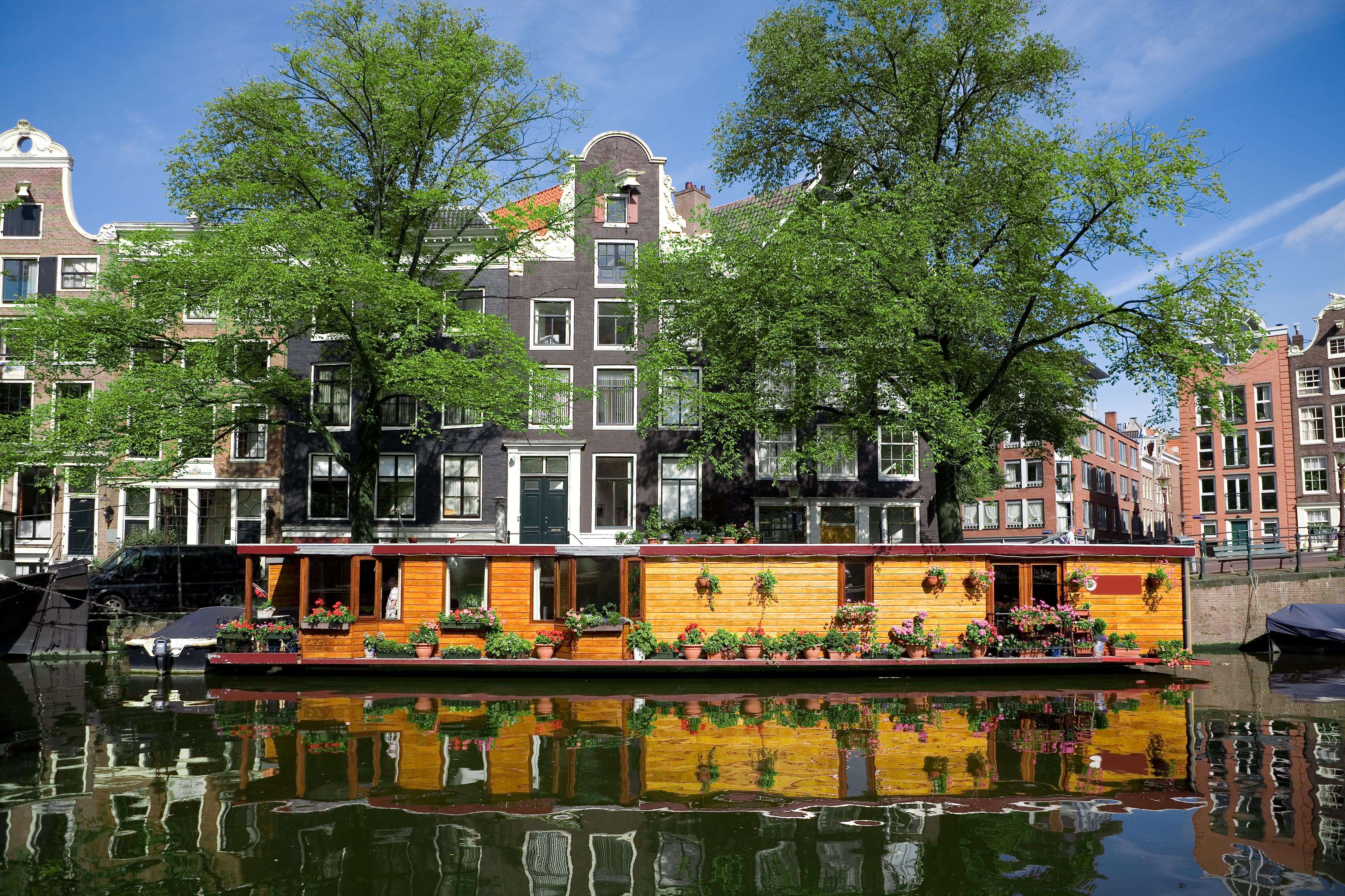 Las casas flotantes de Ámsterdam - Holanda Circuito Escápate a Ámsterdam