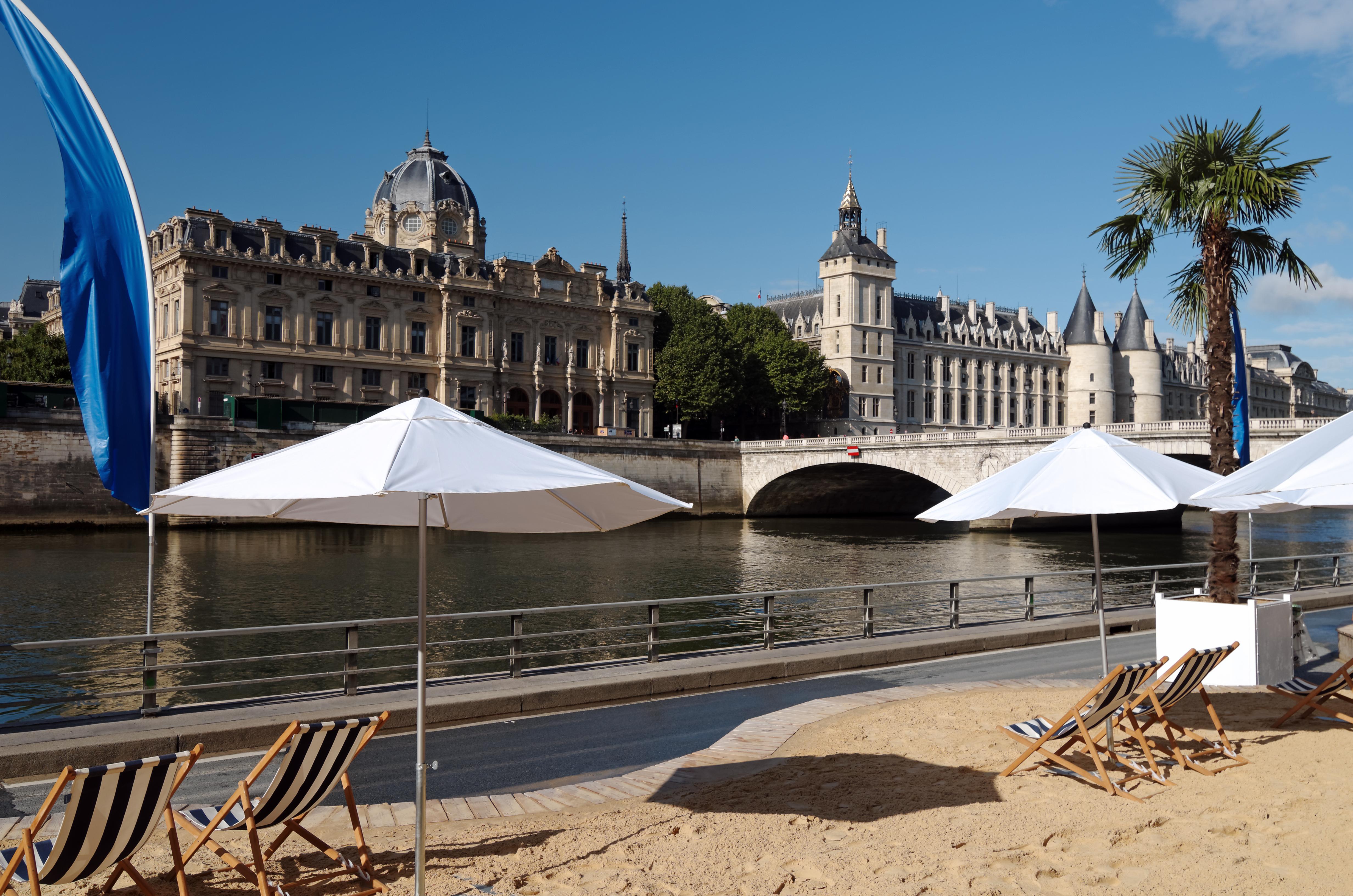 La playa de París - Holanda Circuito Ámsterdam, el Rhin y París
