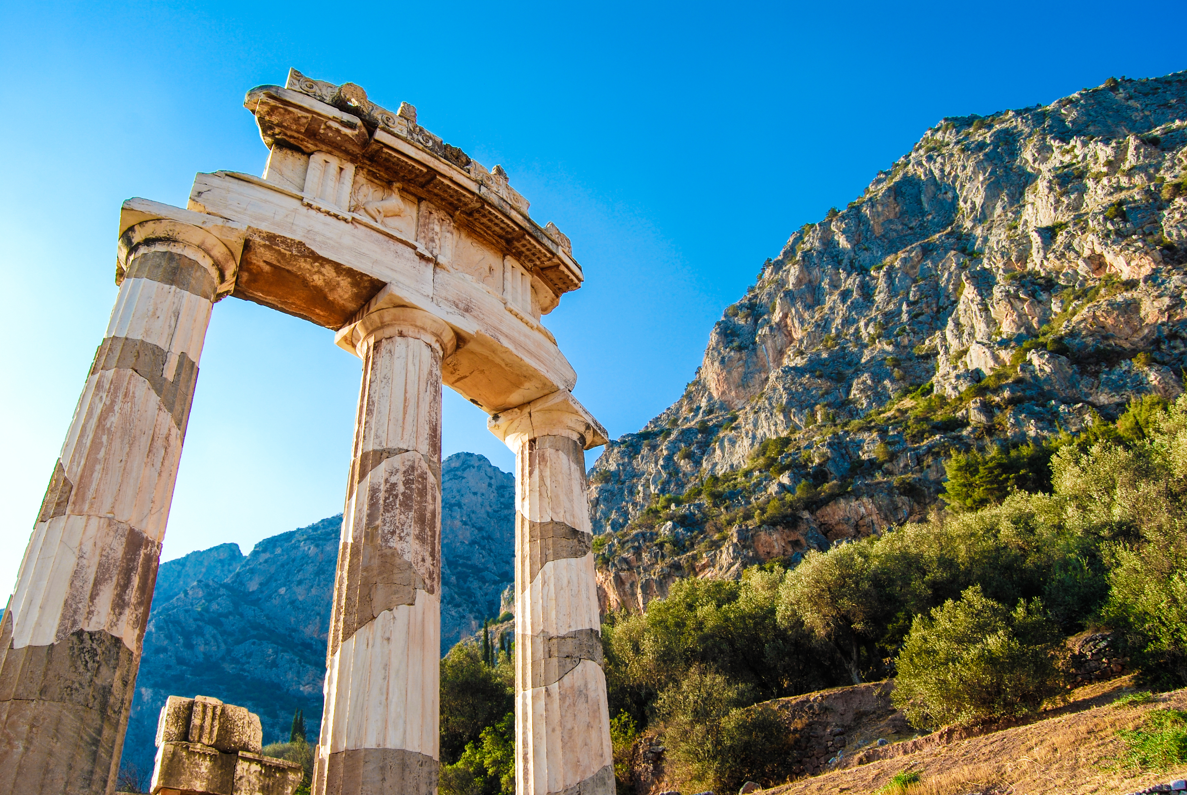 El más grande de los dioses en la más grande de las estatuas - Grecia Circuito Atenas, Islas Griegas y Grecia Clásica