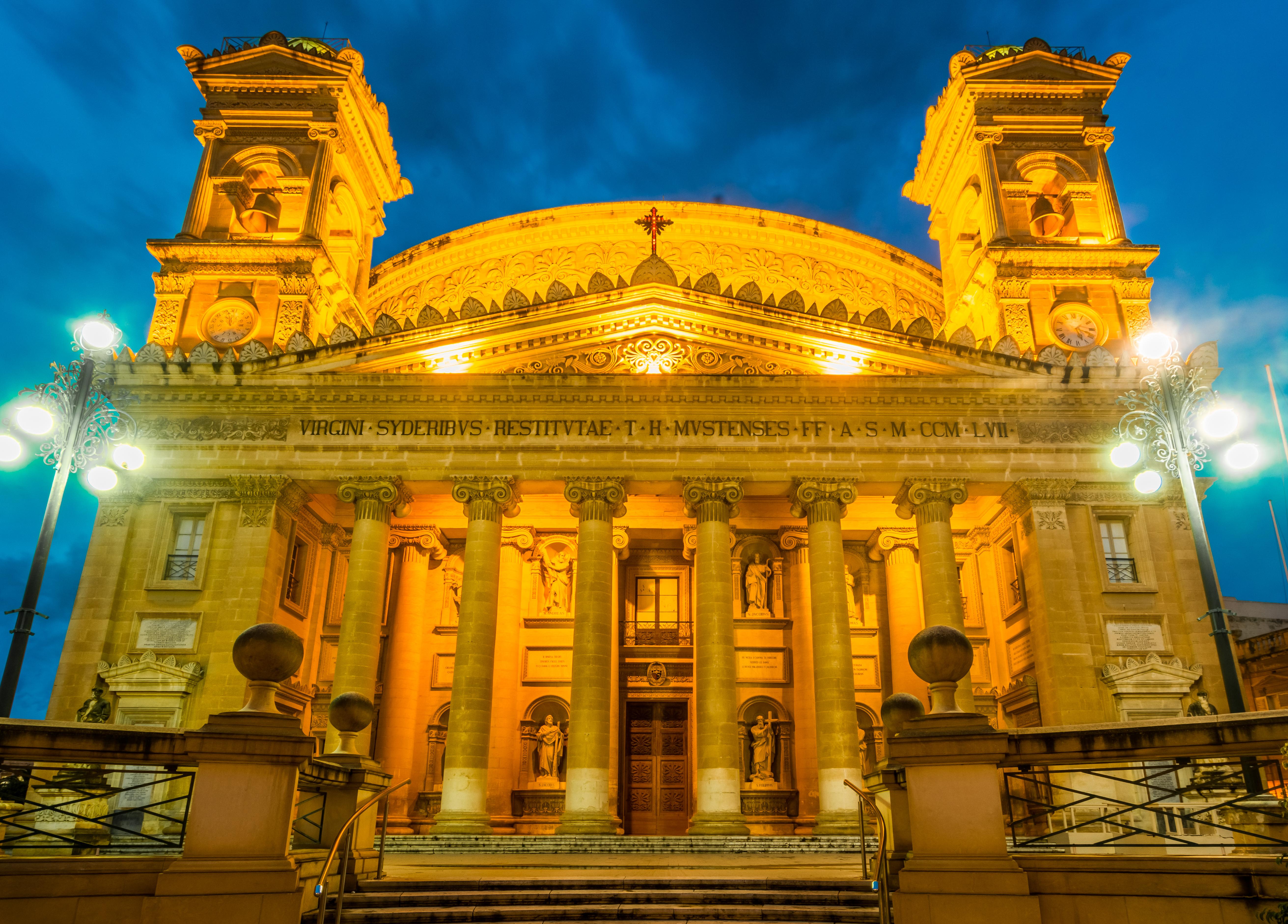 Revive el milagro de Mosta - Malta Circuito Maravillas de Malta