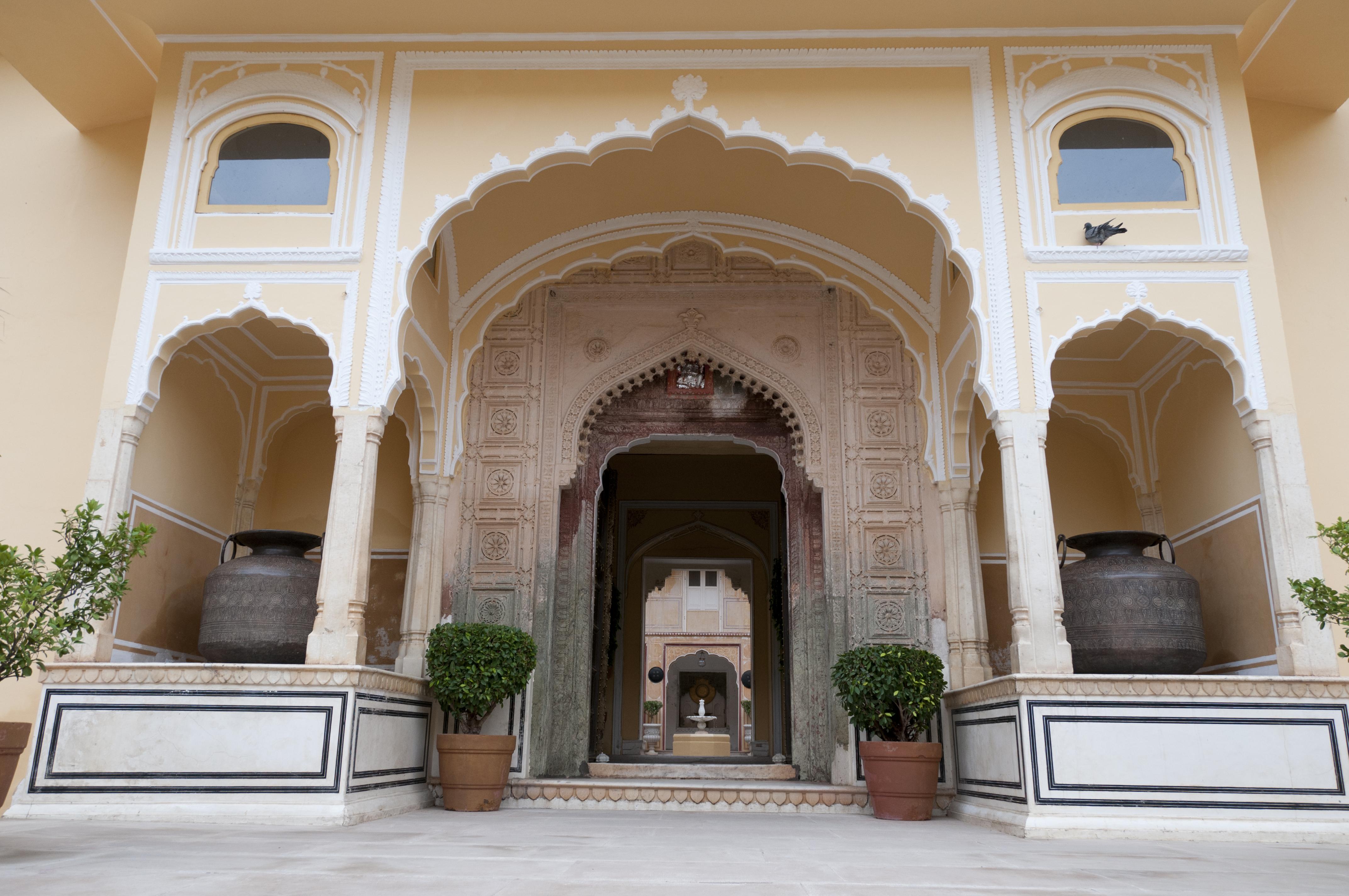 Lujo asiático en el Palacio de Samode - India Gran Viaje Delhi, Jaipur, Agra