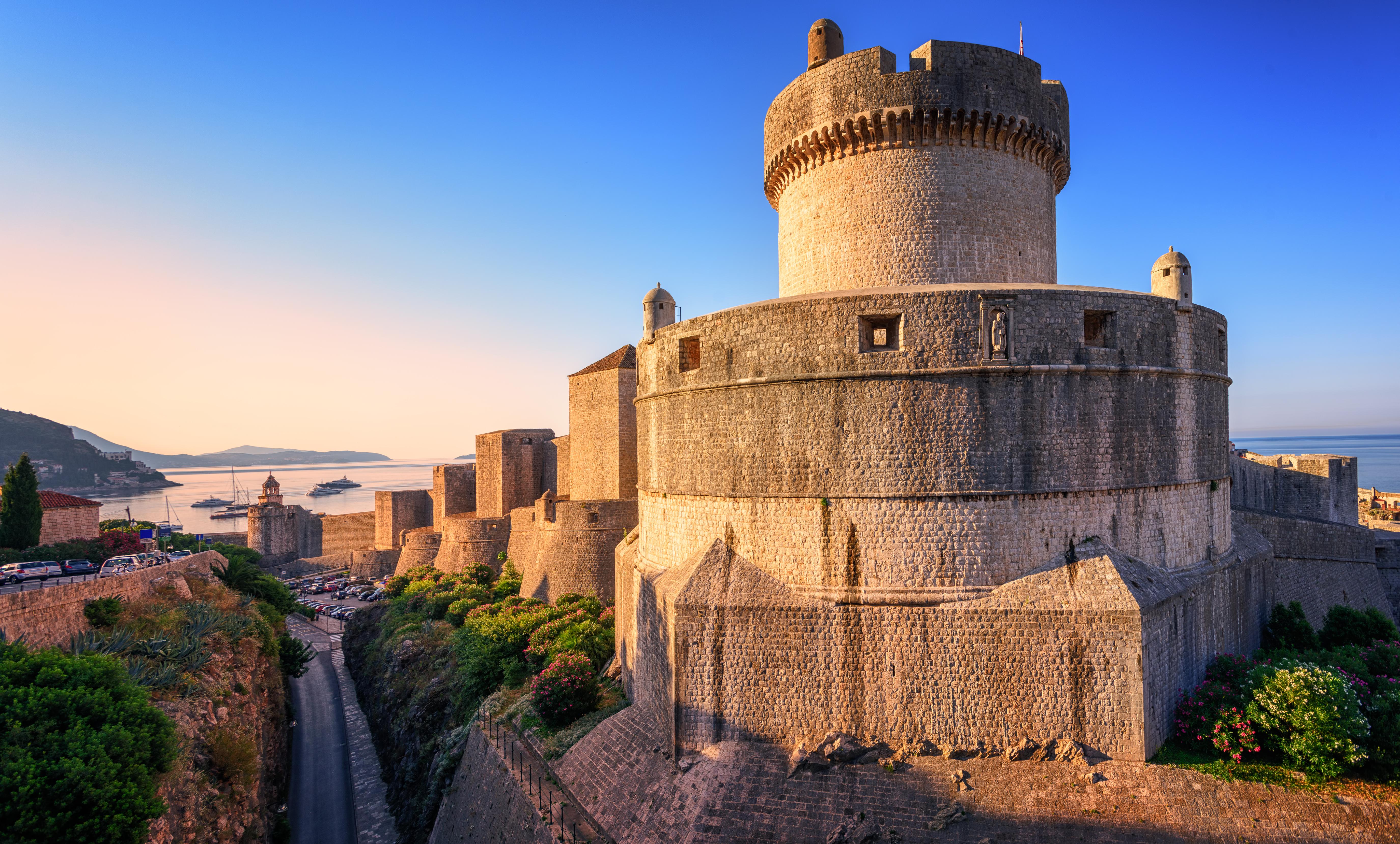 Domina Dubrovnik desde lo más alto - Croacia Circuito Gran Tour de Croacia e Istria