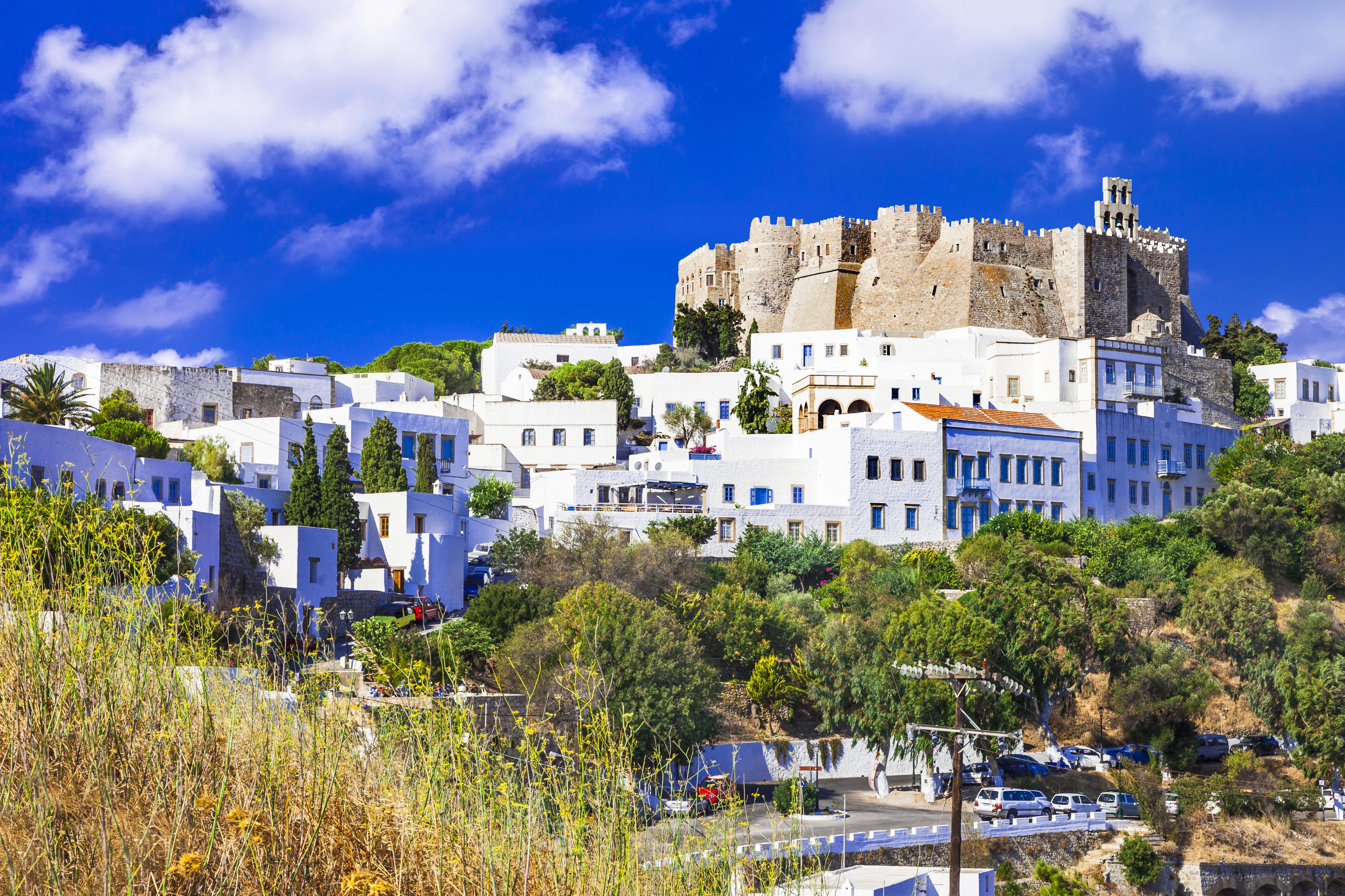 Respira la magia de Patmos - Grecia Circuito Lo Mejor de Turquía, Crucero por el Egeo y Atenas