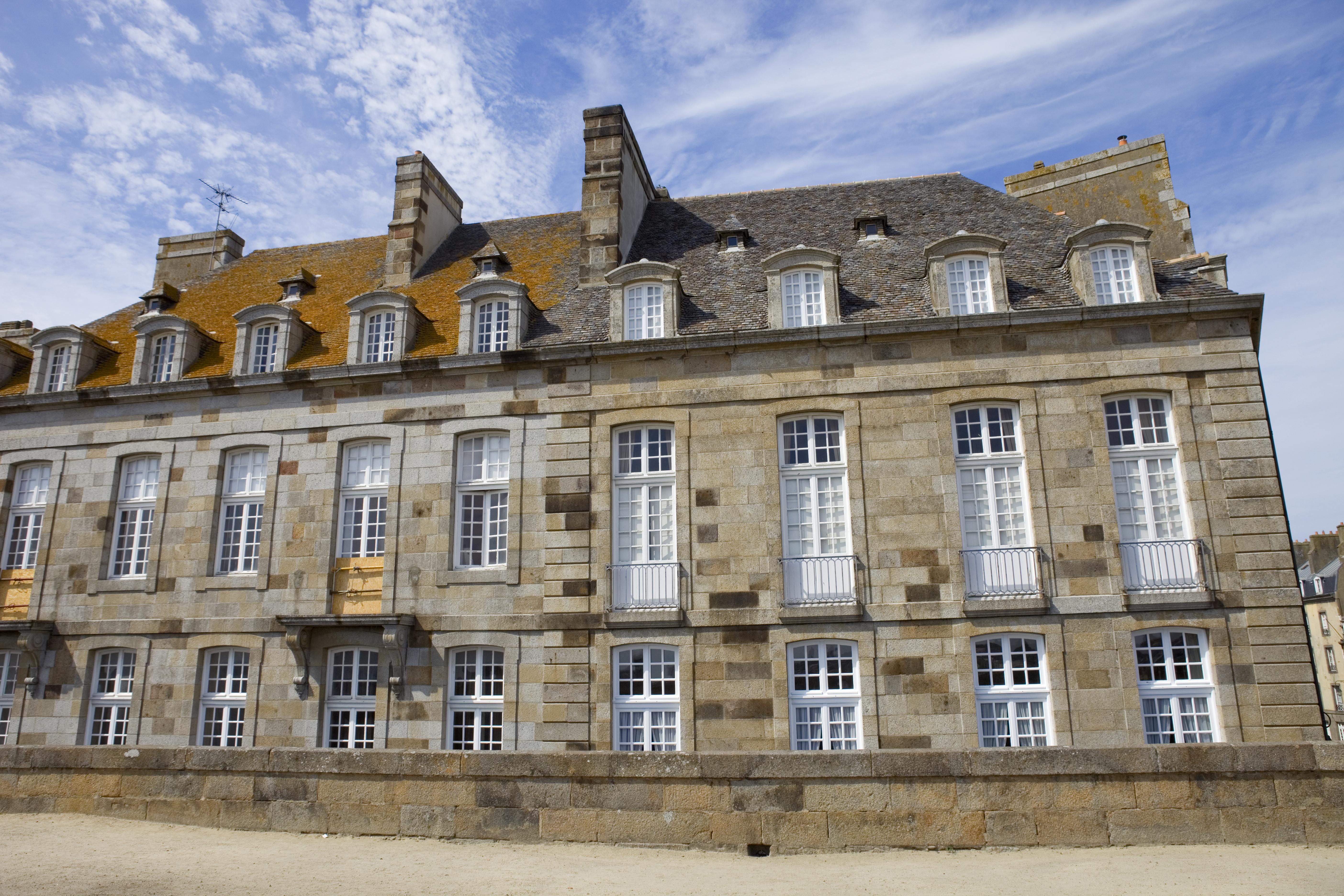 Las casas de St Maló - Francia Circuito Gran Tour de Normandia y Bretaña