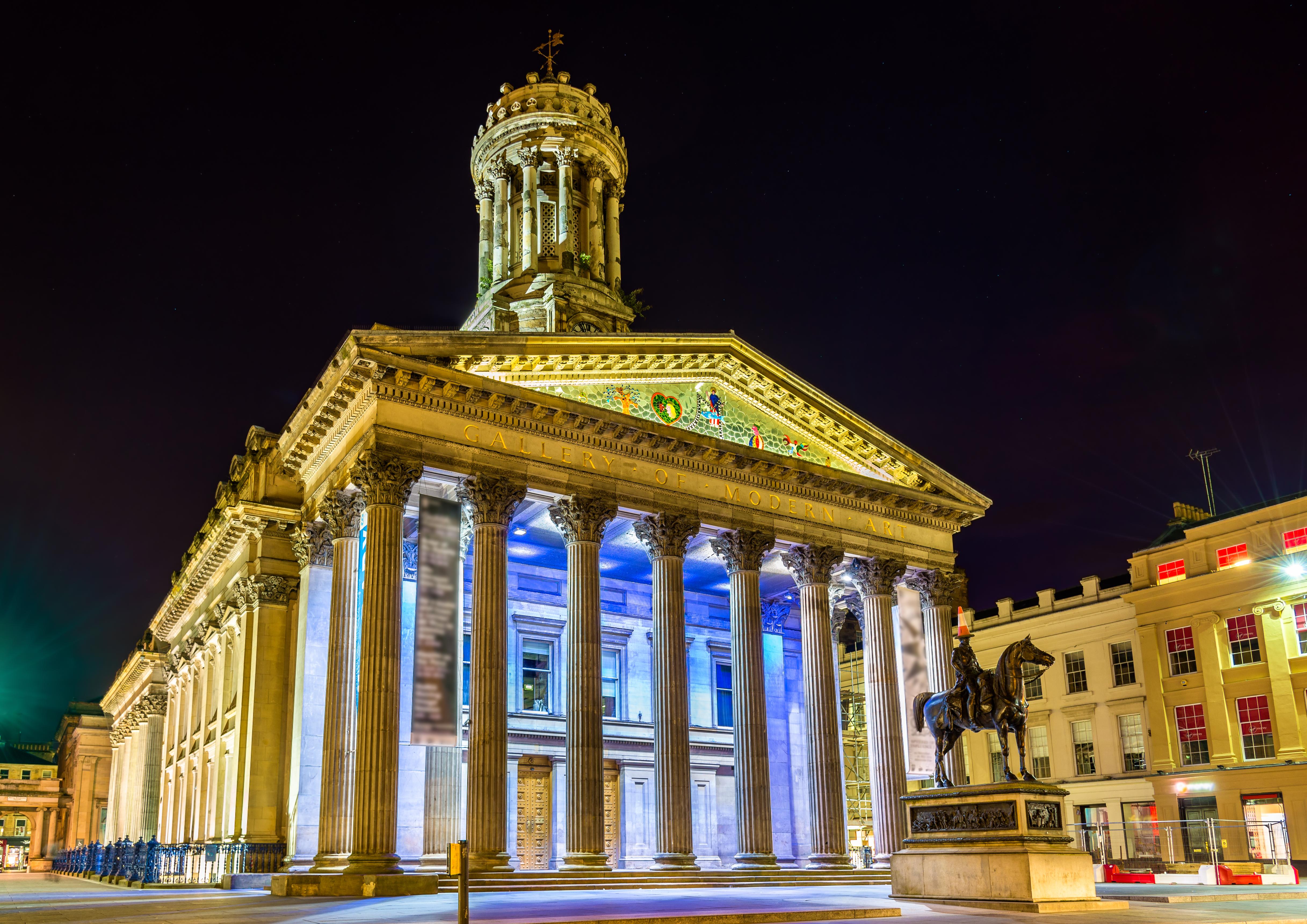Los amantes del arte encontrarán en Glasgow un lugar donde perderse y disfrutar sin límite - Inglaterra Circuito Londres y Escocia
