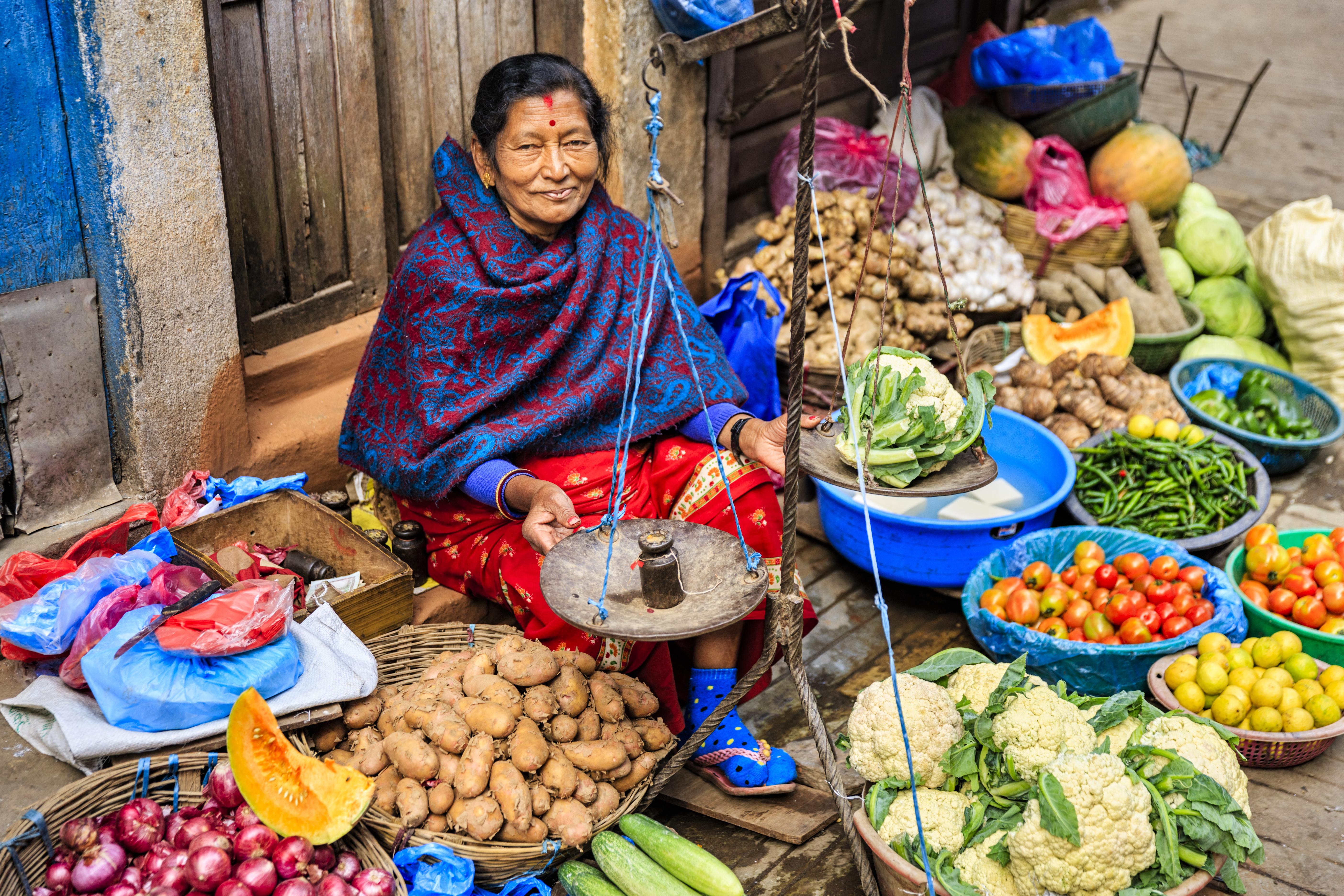 Tiendas y mercados en Katmandú - Nepal Gran Viaje Nepal clásico