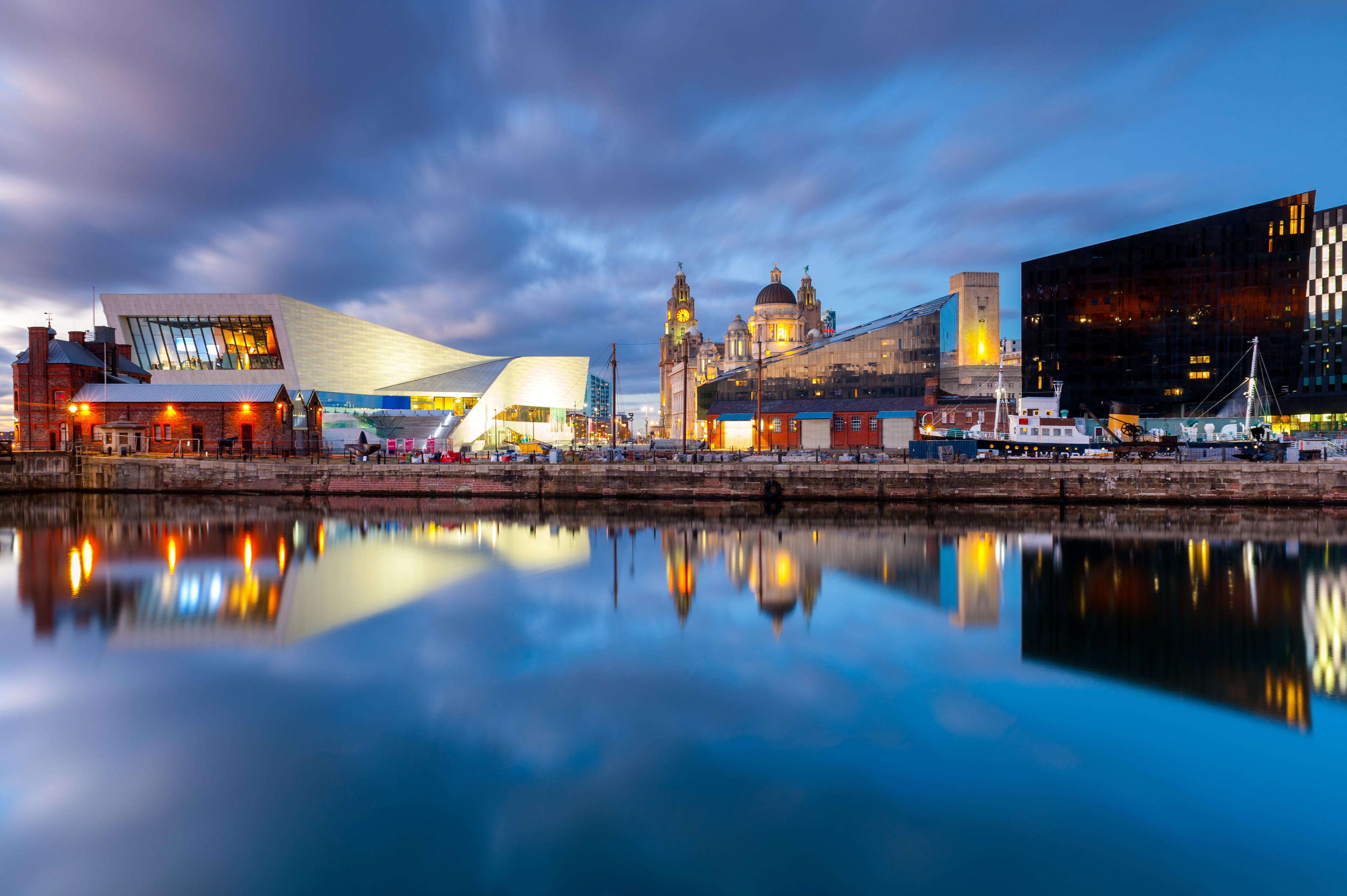 Visita el Albert Dock, la puerta de Liverpool hacia el Nuevo Mundo - Inglaterra Circuito Todo Inglaterra: de York a Londres