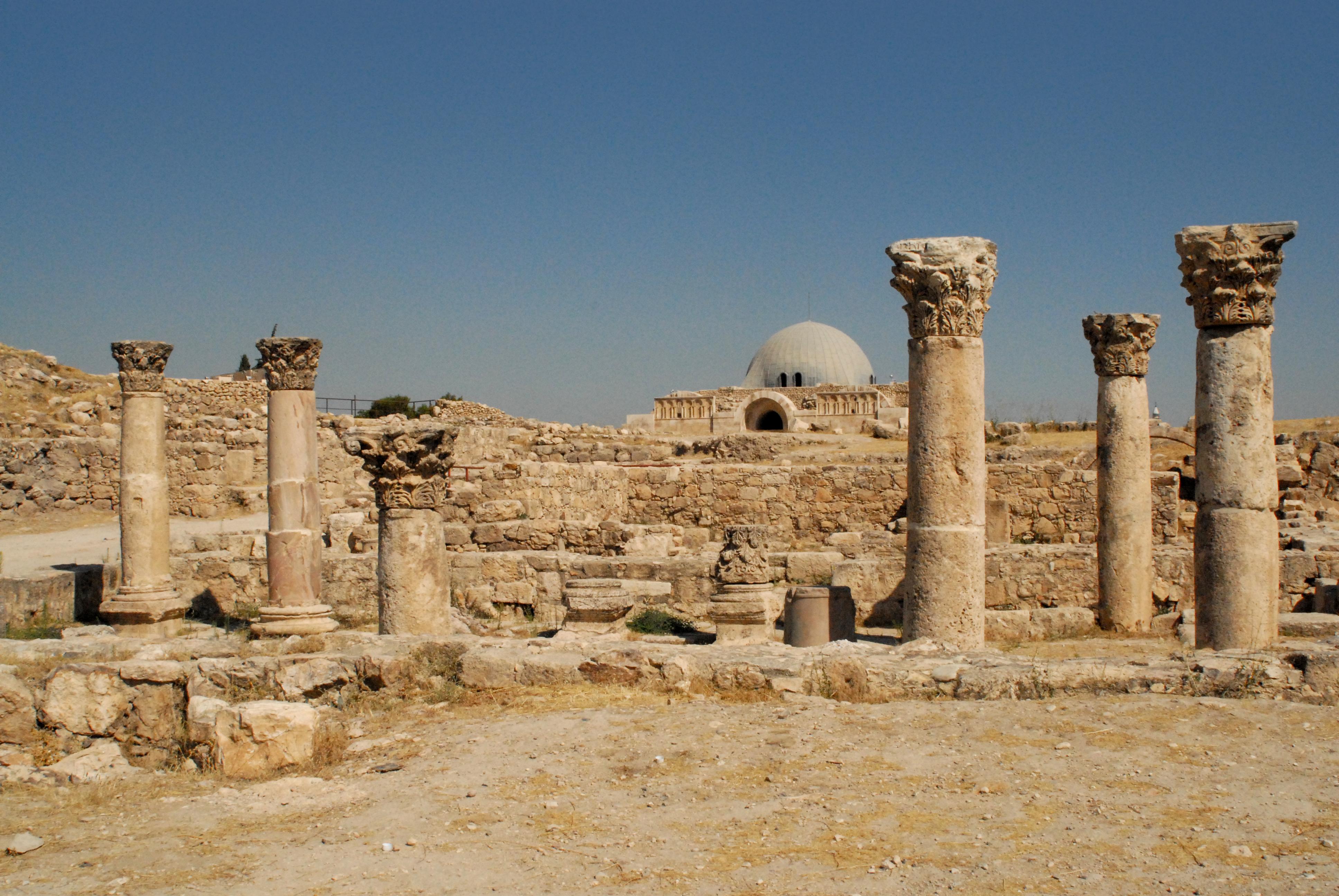 El espectacular Palacio Umayyad - Jordania Circuito Jordania imprescindible y Jerusalén
