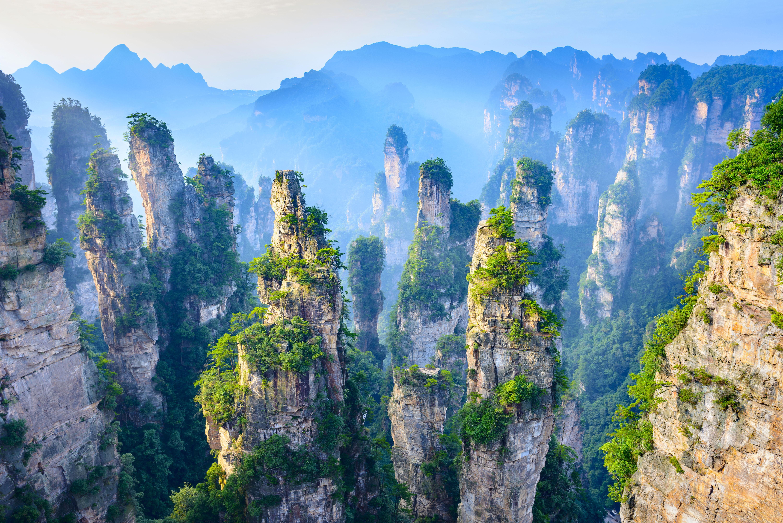 Disfruta de la naturaleza en Zhangjiajie - China Gran Viaje Beijing, Avatar y Shanghai
