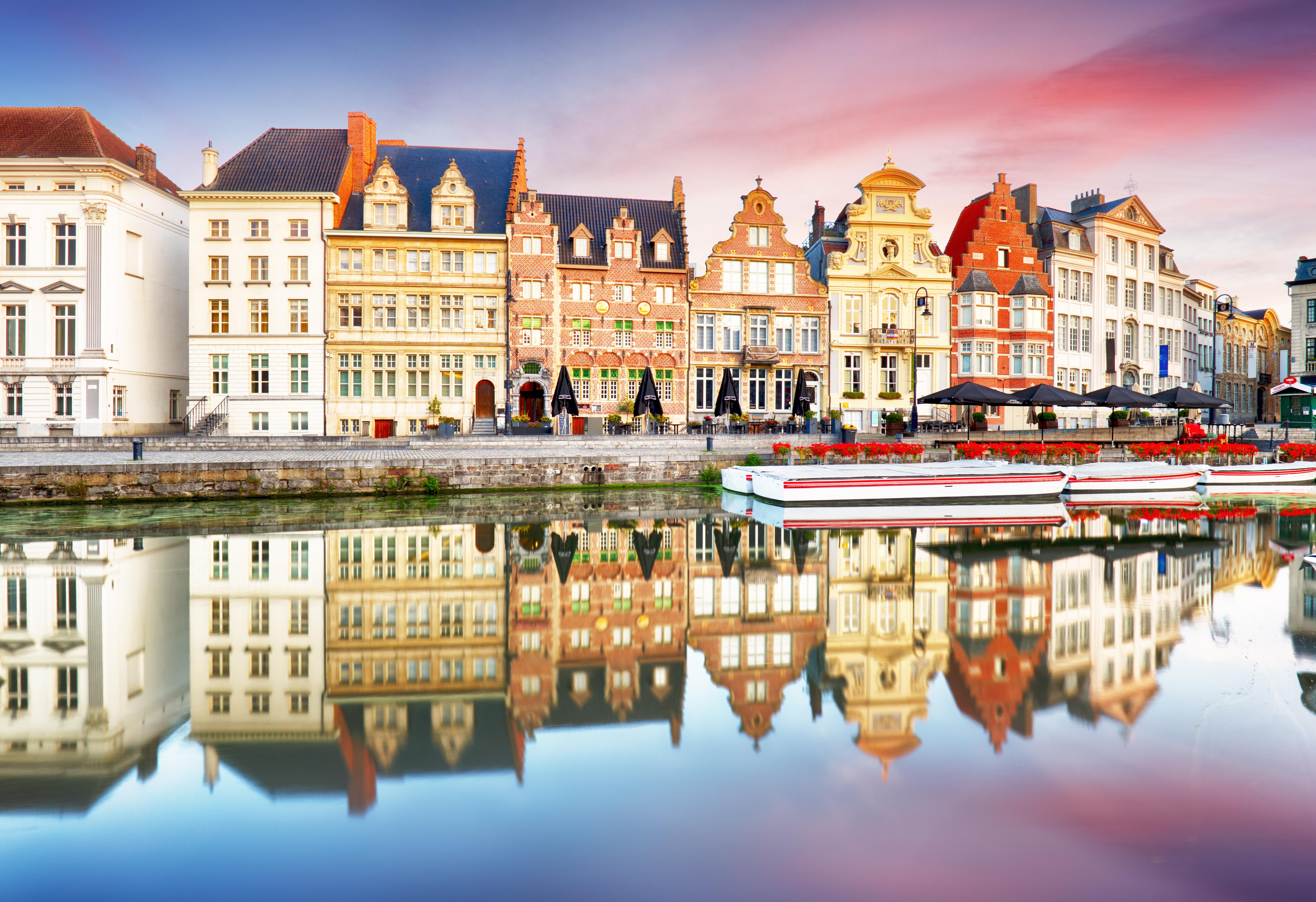 De paseo por el barrio Patershol en Gante - Bélgica Circuito La Ruta de Carlomagno