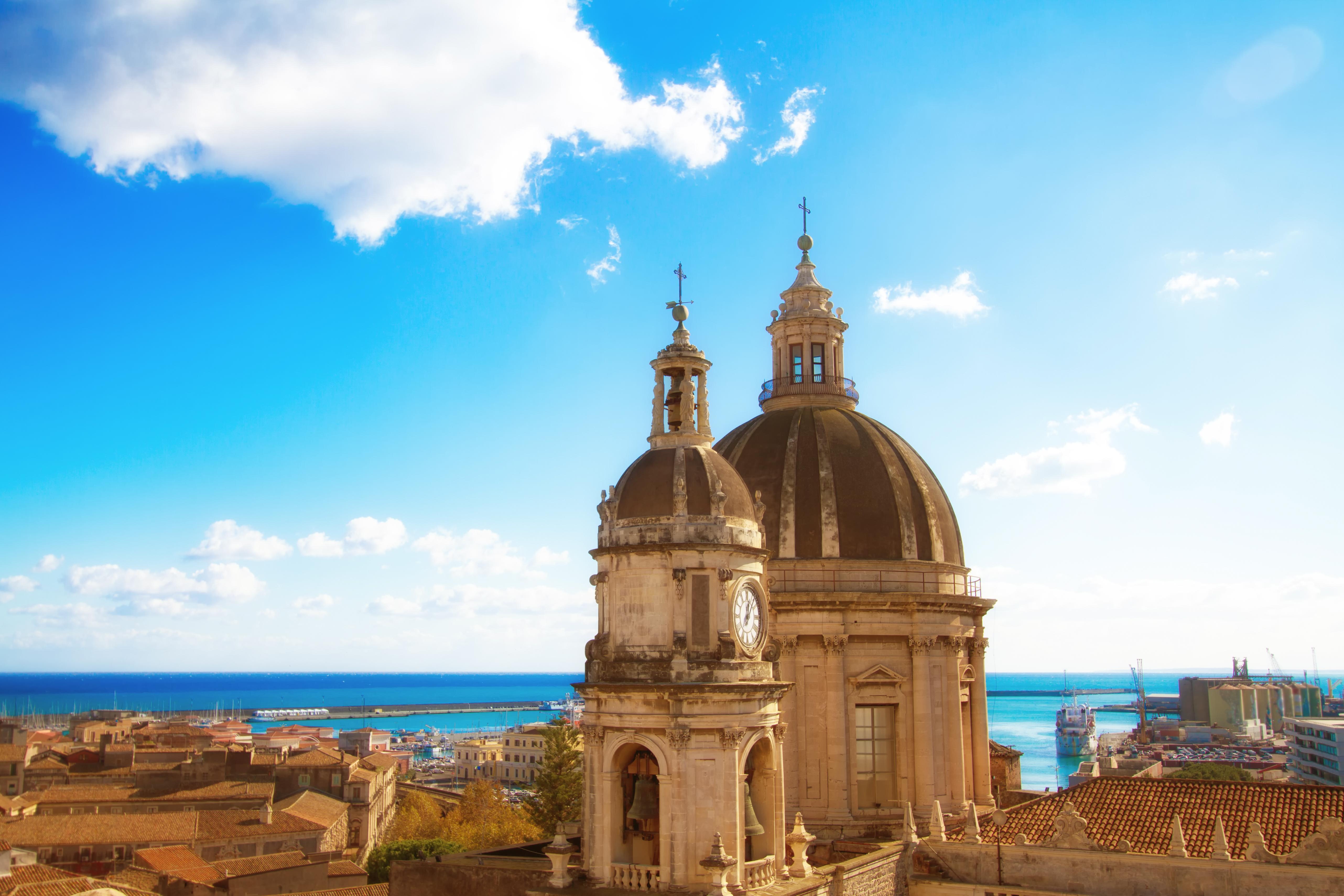 Descubre la sorprendente ciudad volcánica de Catania - Italia Circuito Sicilia Clásica y Nápoles