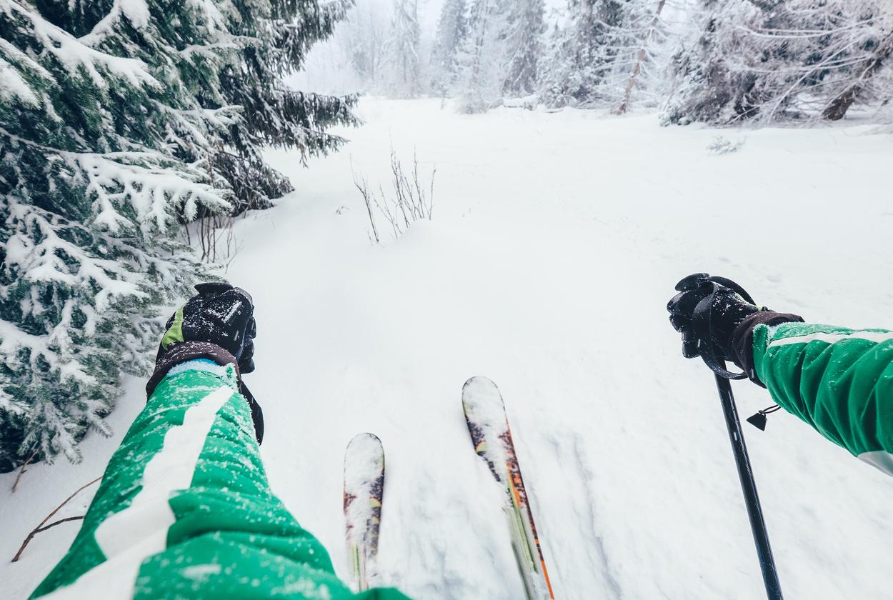 A toda velocidad con el esquí de fondo - Finlandia Circuito Laponia e Iso-Syöte
