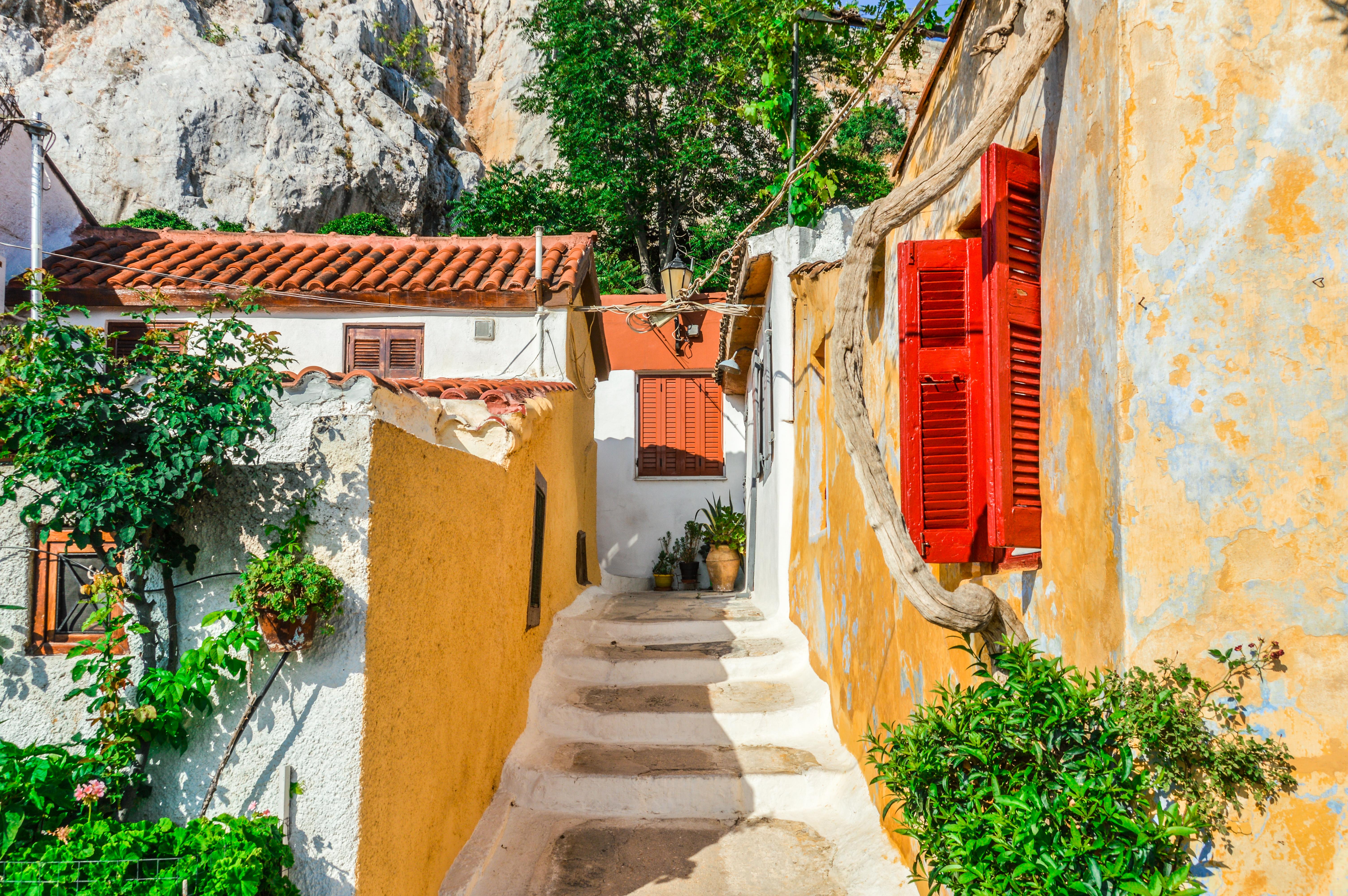 Date un paseo por el corazón histórico de Atenas - Grecia Circuito Atenas, Olimpia, Delfos y Kalambaka