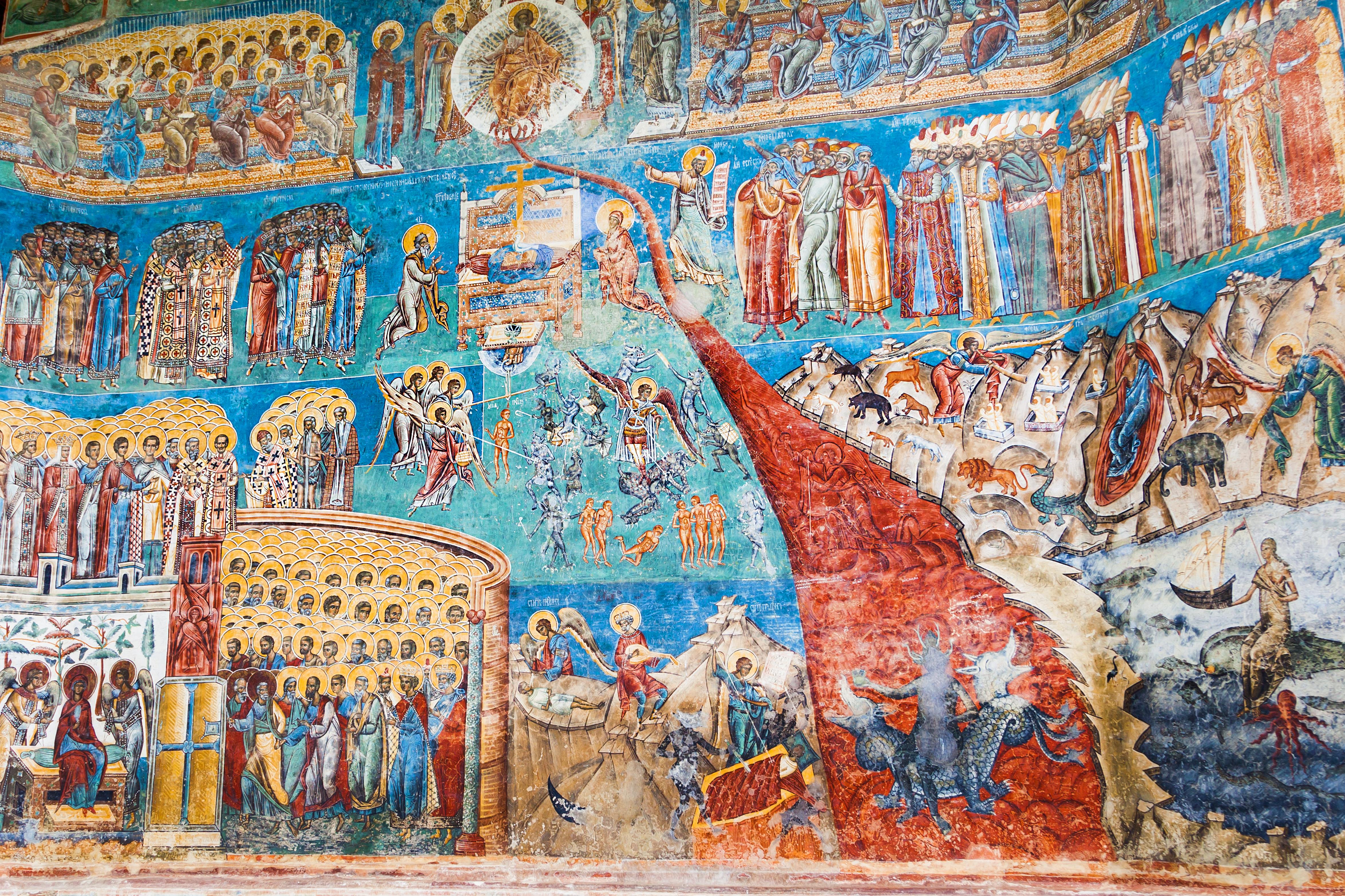 Explosión de arte bizantino en el corazón de Transilvania - Rumanía Circuito Rumanía histórica