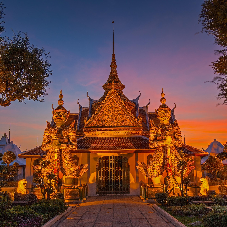 Templos que nunca olvidarás en el corazón de Bangkok - Tailandia Gran Viaje Alrededor de Tailandia