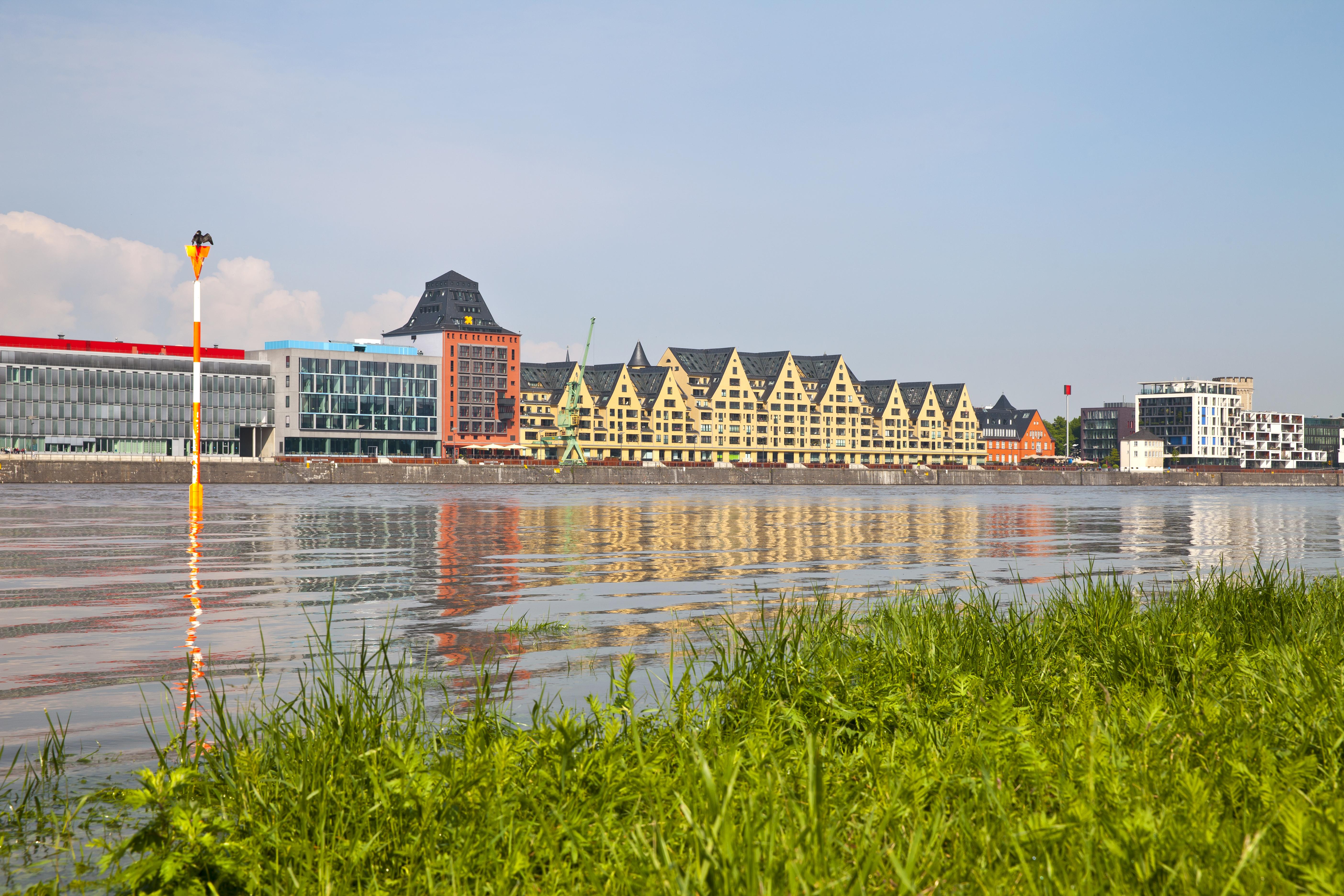 Rheinauhafen en Colonia - Bélgica Circuito La Ruta de Carlomagno