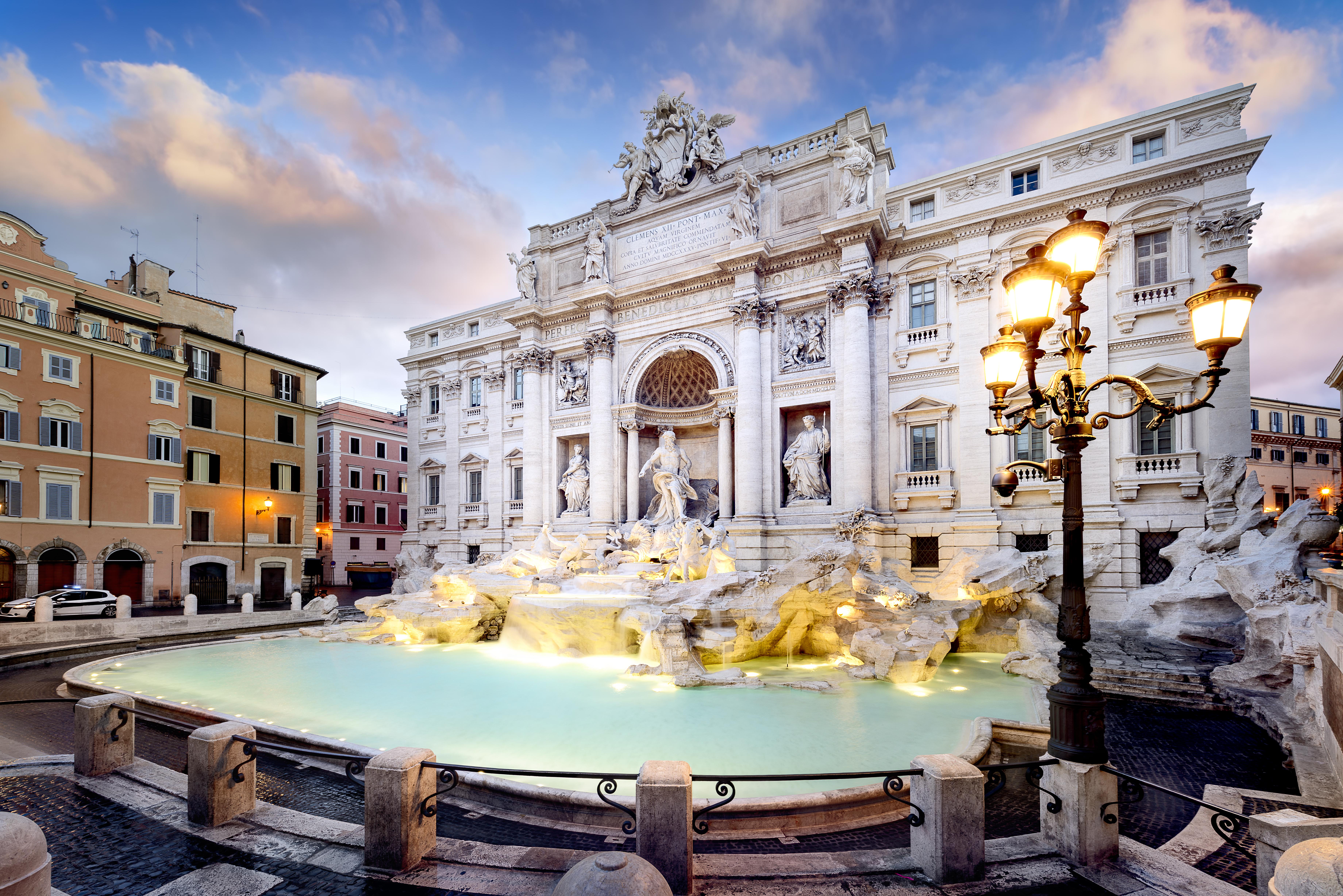 Tira una moneda a la fuente más famosa del mundo - Italia Circuito Italia Monumental: Roma, Florencia y Venecia
