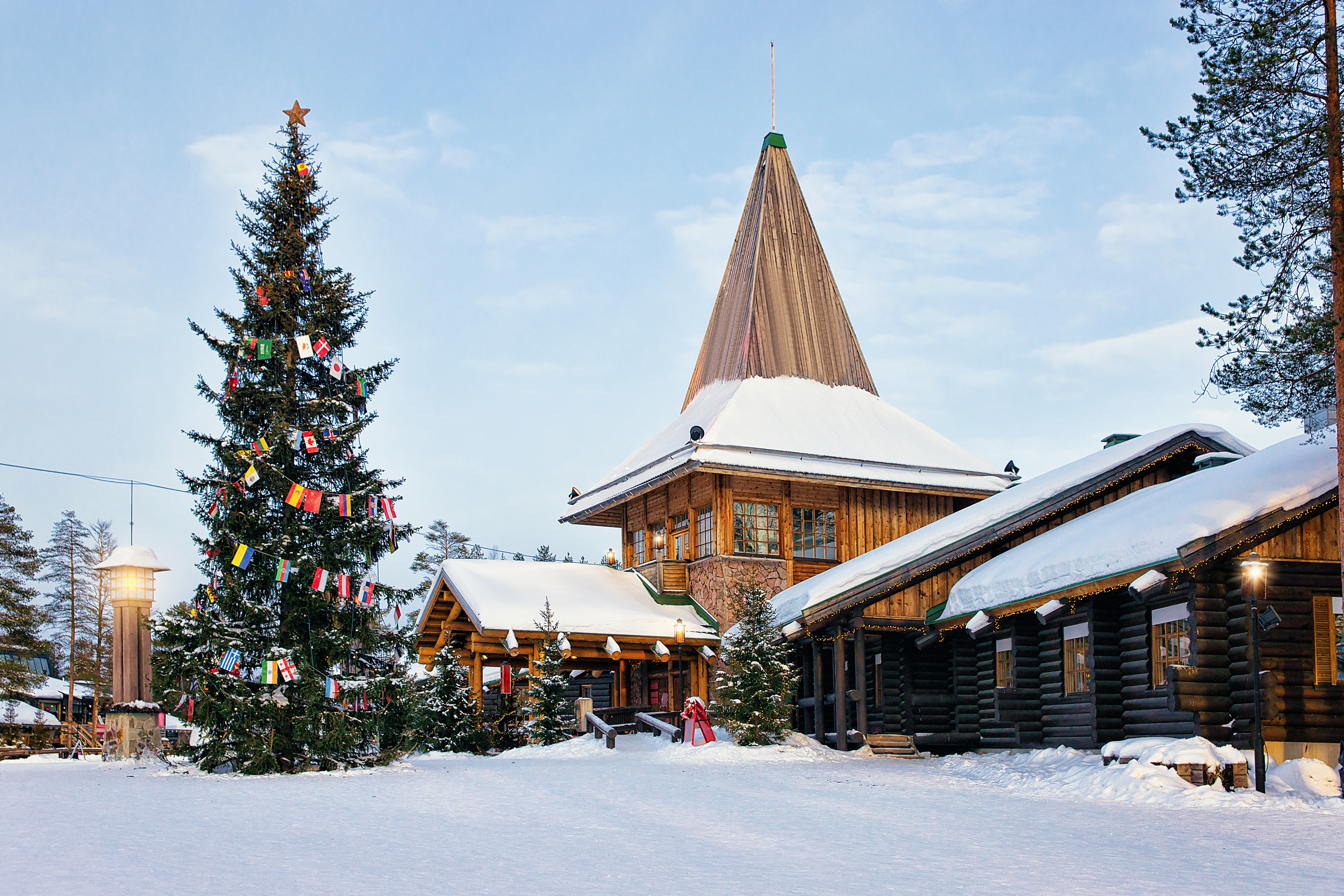 Conocer a Santa Claus en primera persona - Finlandia Circuito Laponia y Ruka