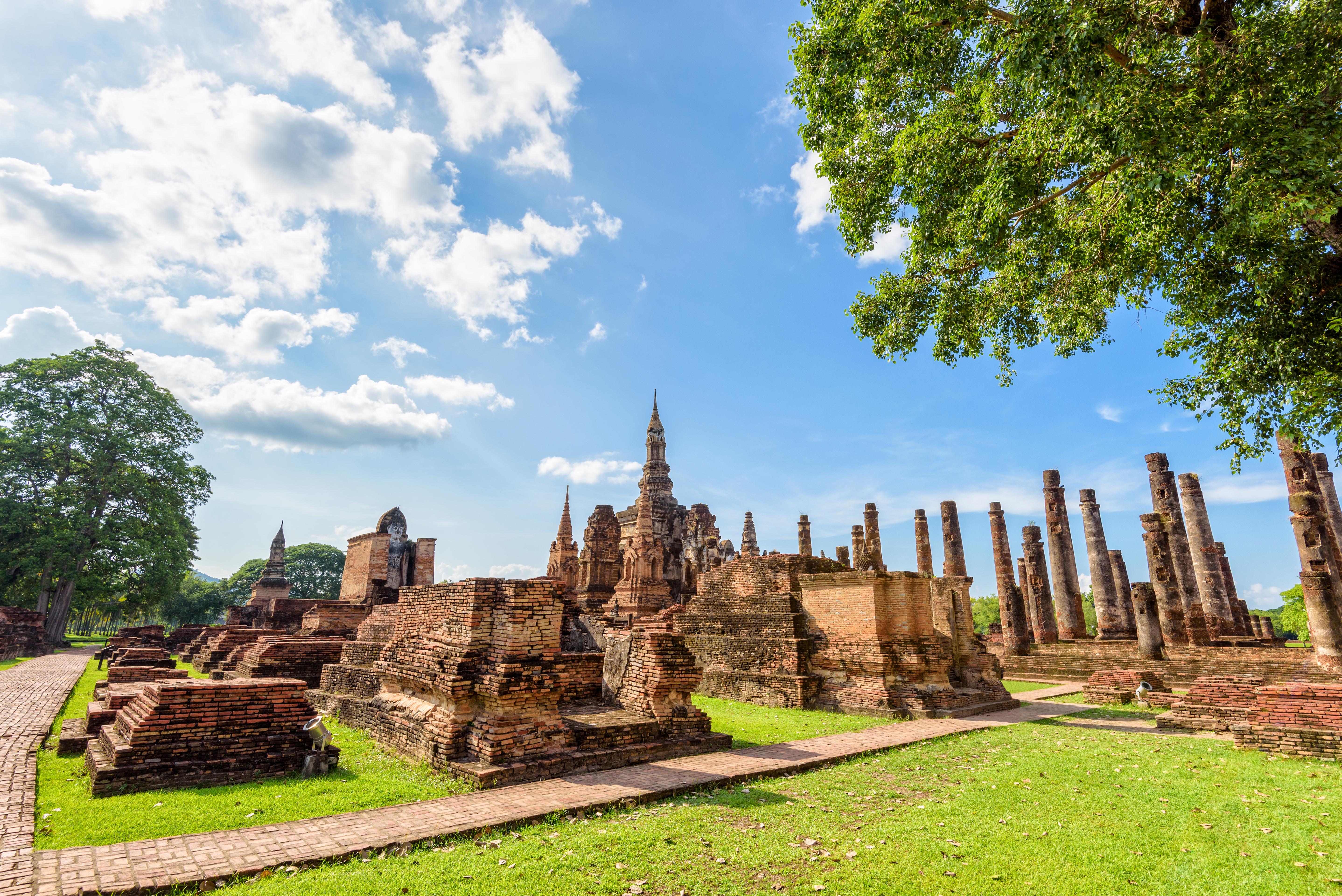 Descubre el parque histórico de Sukhotai - Tailandia Gran Viaje Alrededor de Tailandia