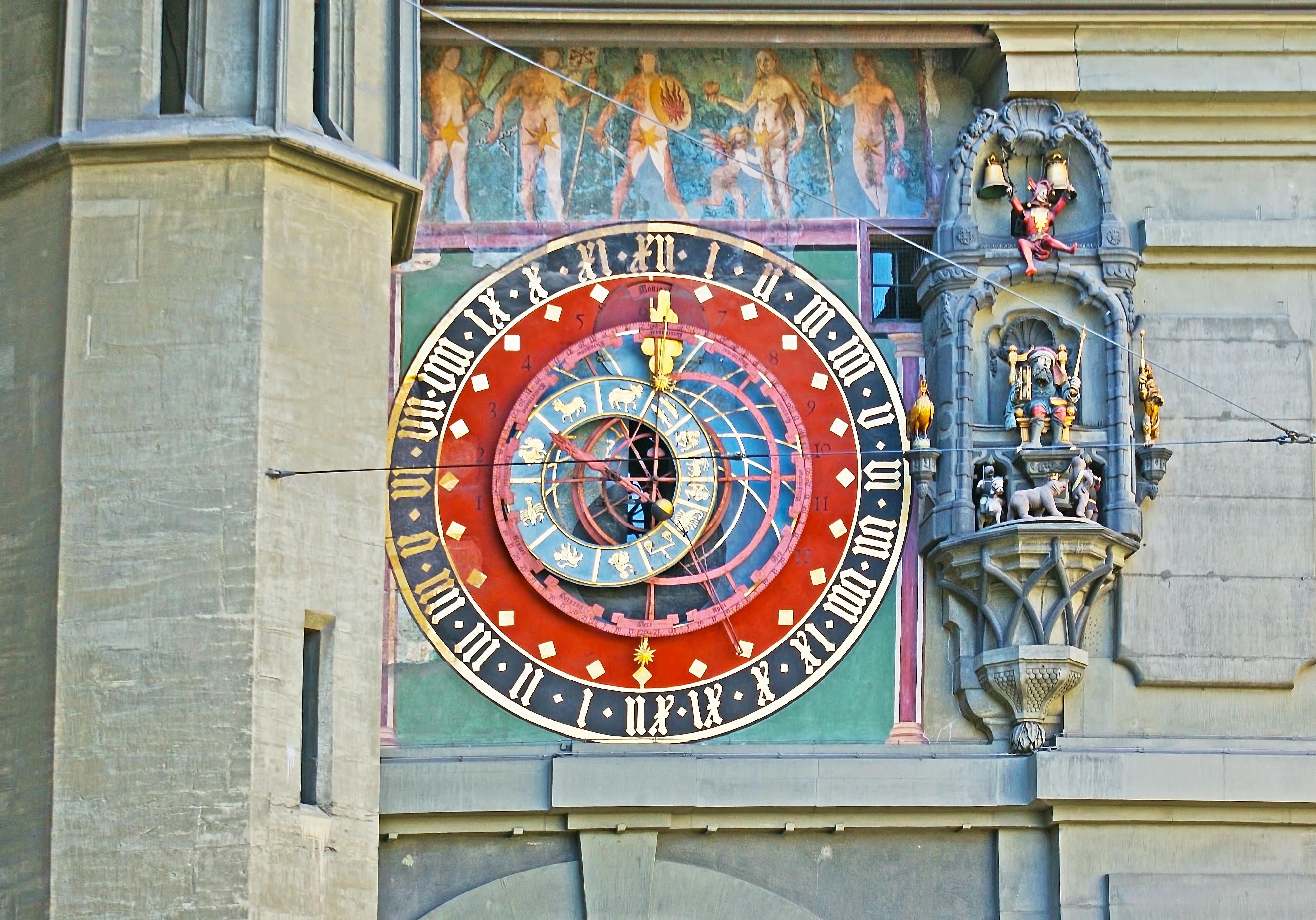 Zytglogge (El Reloj de la Torre), cinco siglos de ingenio mecánico - Suiza Escapada Escapada a Suiza y Selva Negra