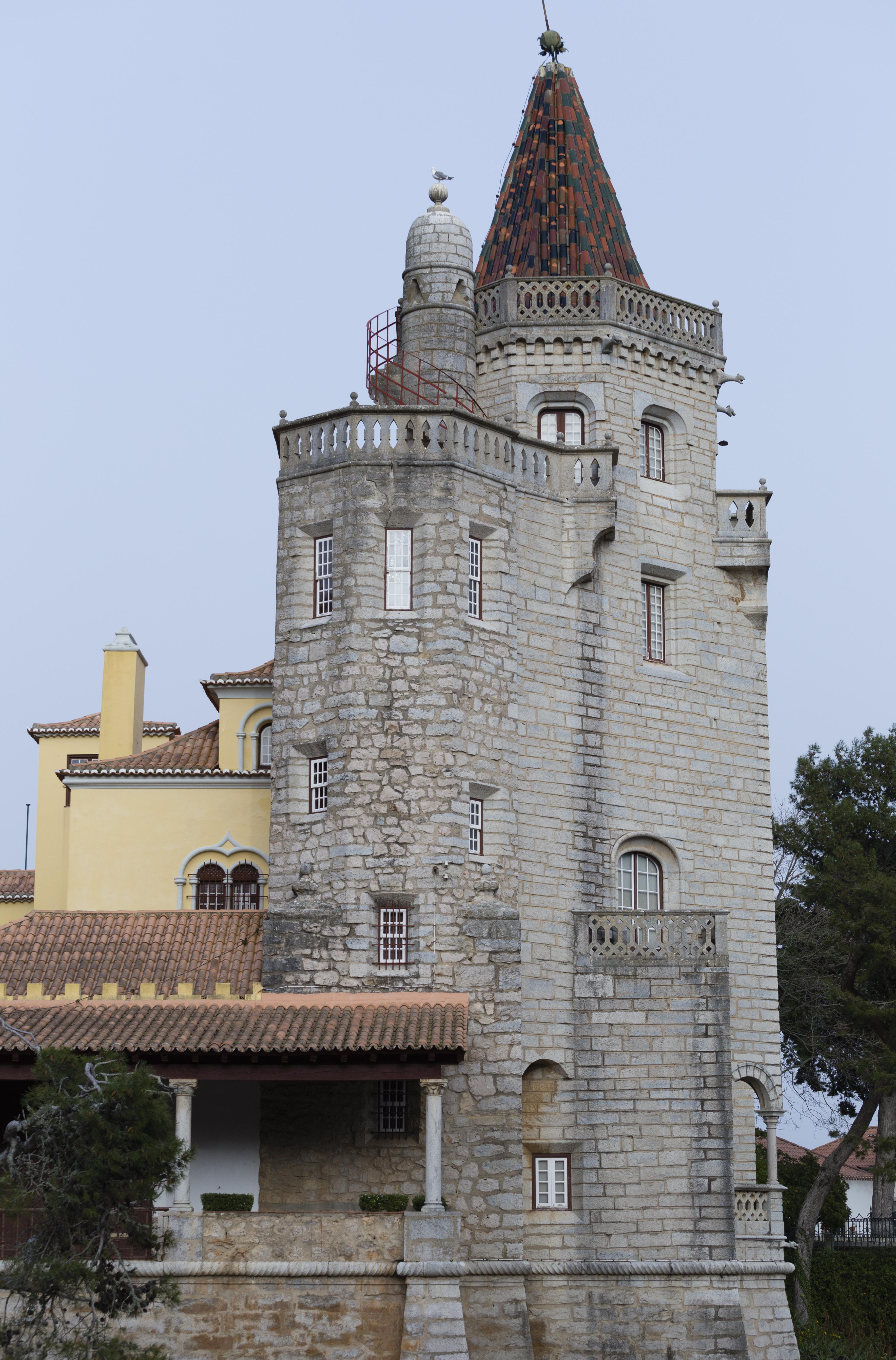 Un palacio y un parque legados por el conde de Castro Guimarães a la ciudad - Portugal Circuito Portugal al Completo: de Lisboa a Fátima