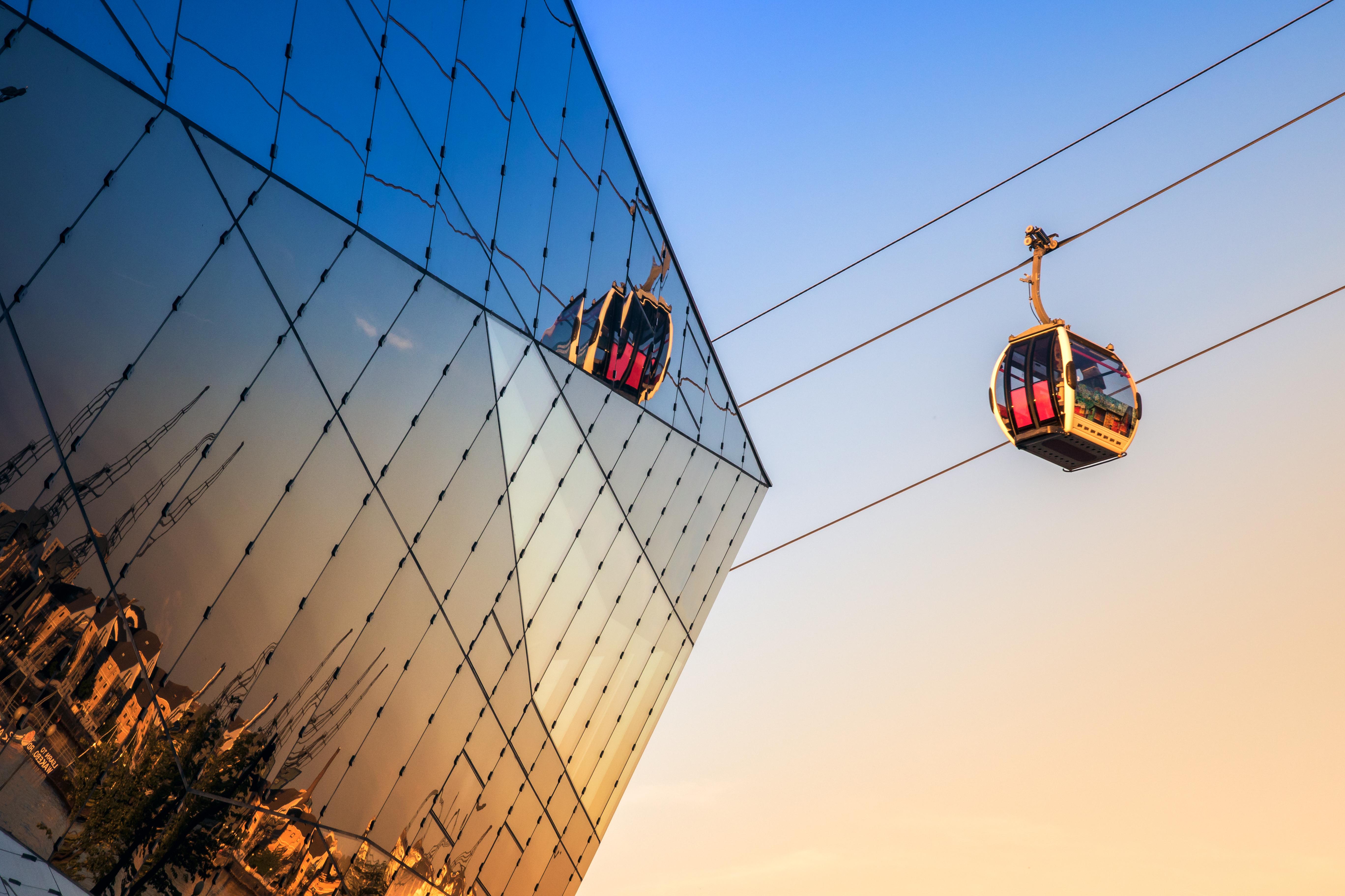 Un teleférico sobre el Támesis - Inglaterra Circuito Londres y París
