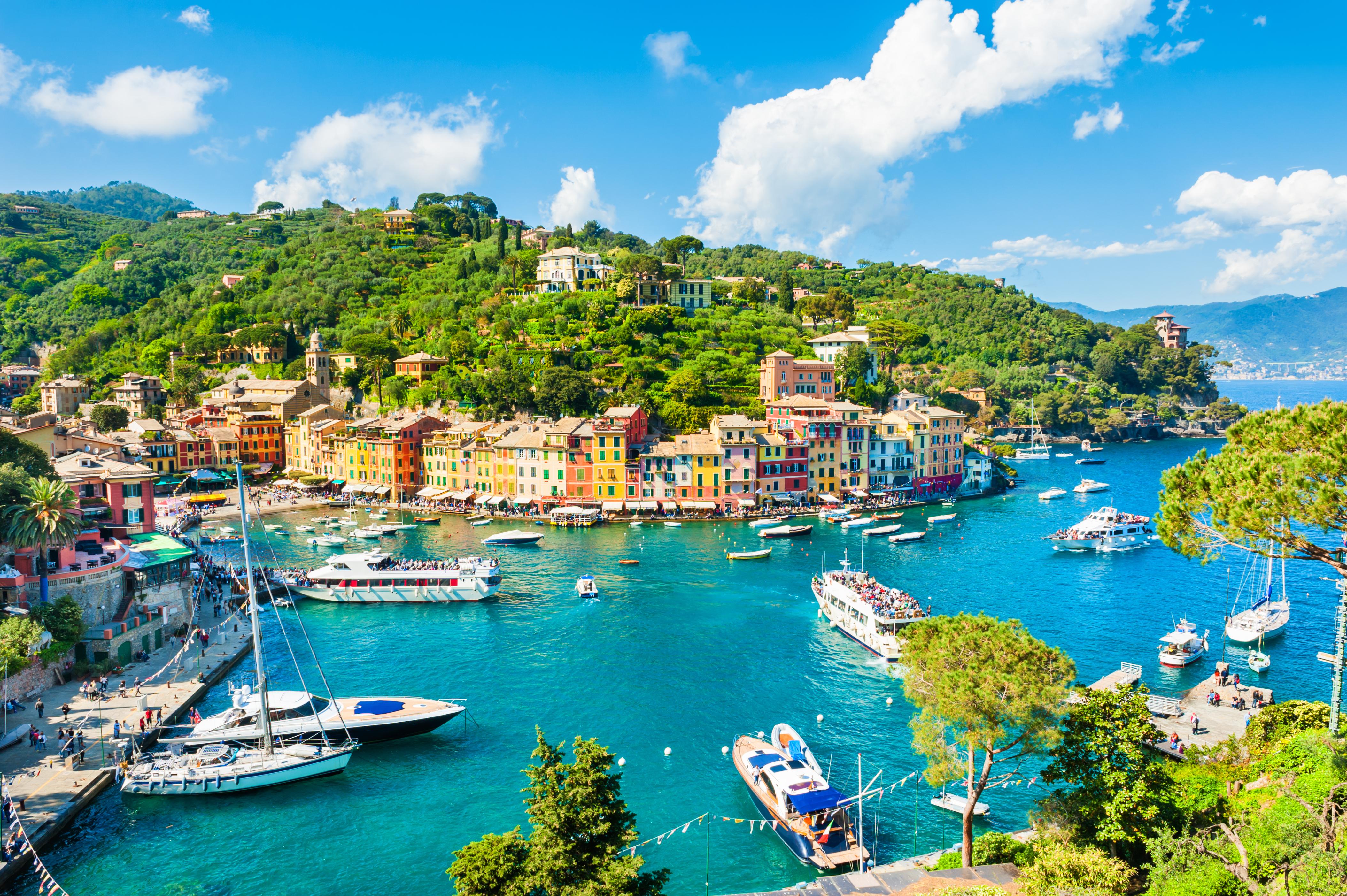 Descubre el glamuroso ambiente de Portofino - Italia Circuito Lo mejor de la Toscana